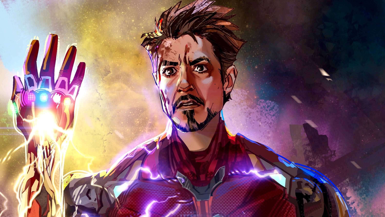 Wallpaper Iron man with gauntlet