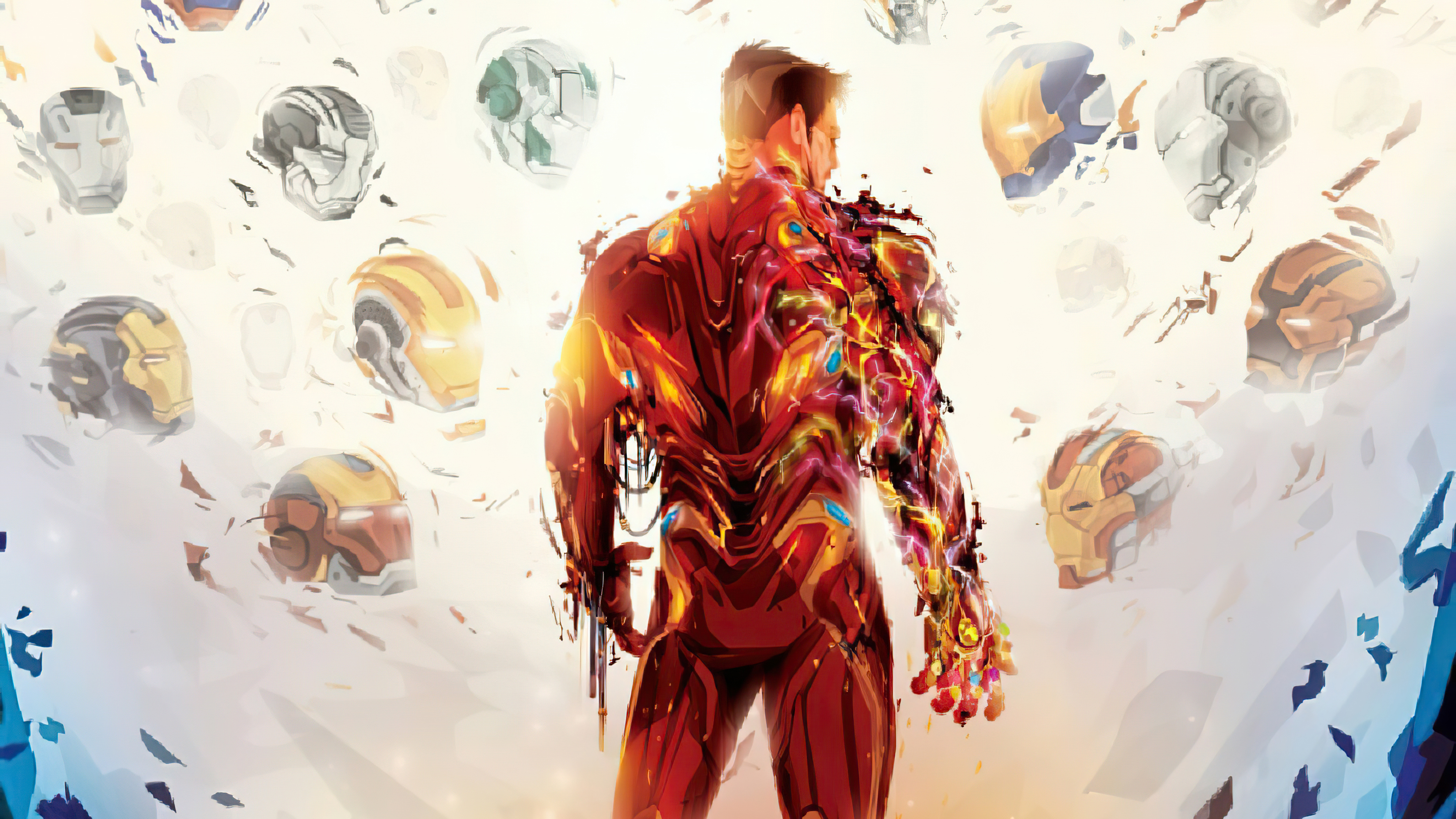 Wallpaper Iron man from the back