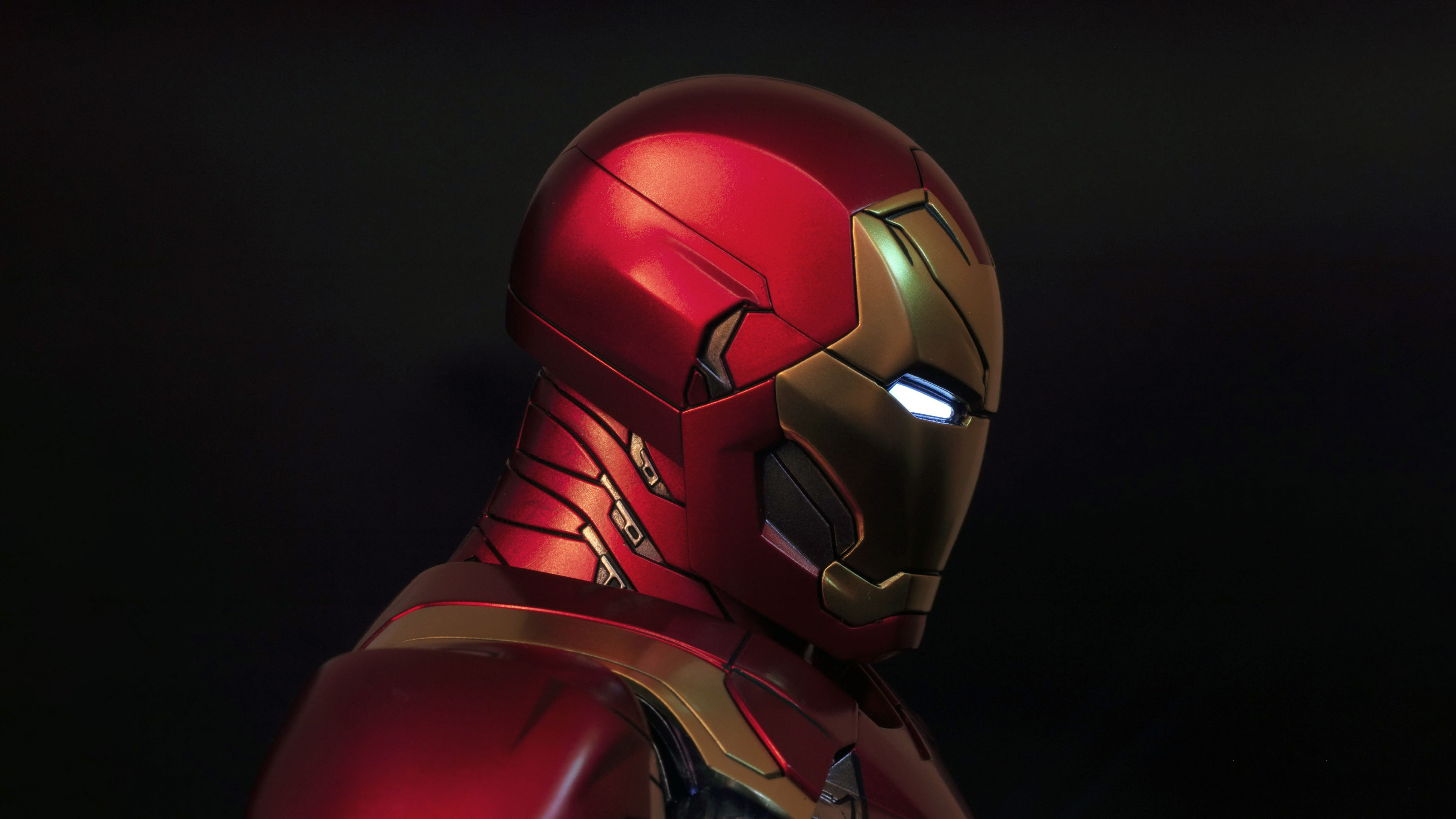 Fondos de pantalla Iron man de perfil