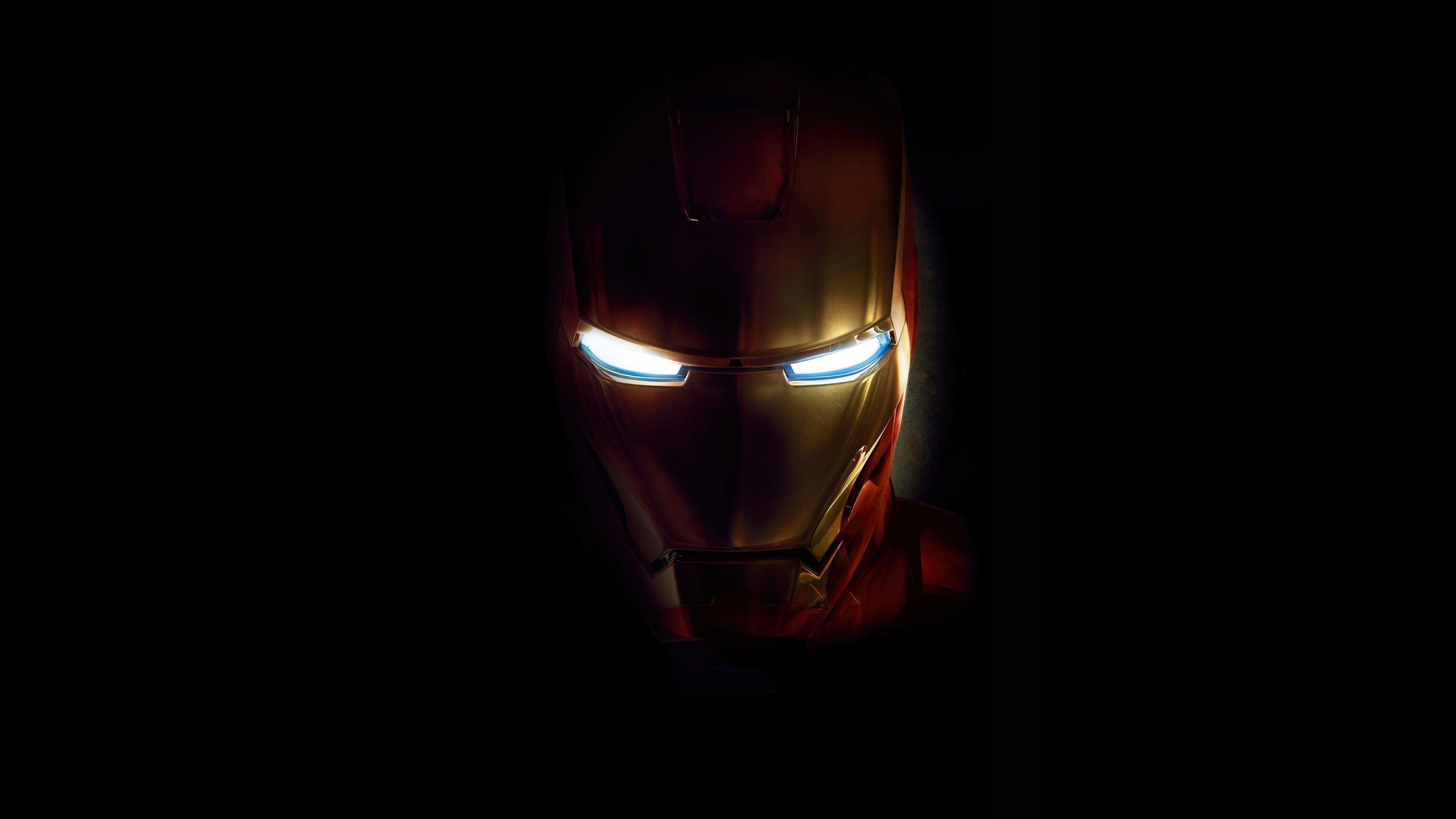 Fondos de pantalla Iron man en la oscuridad