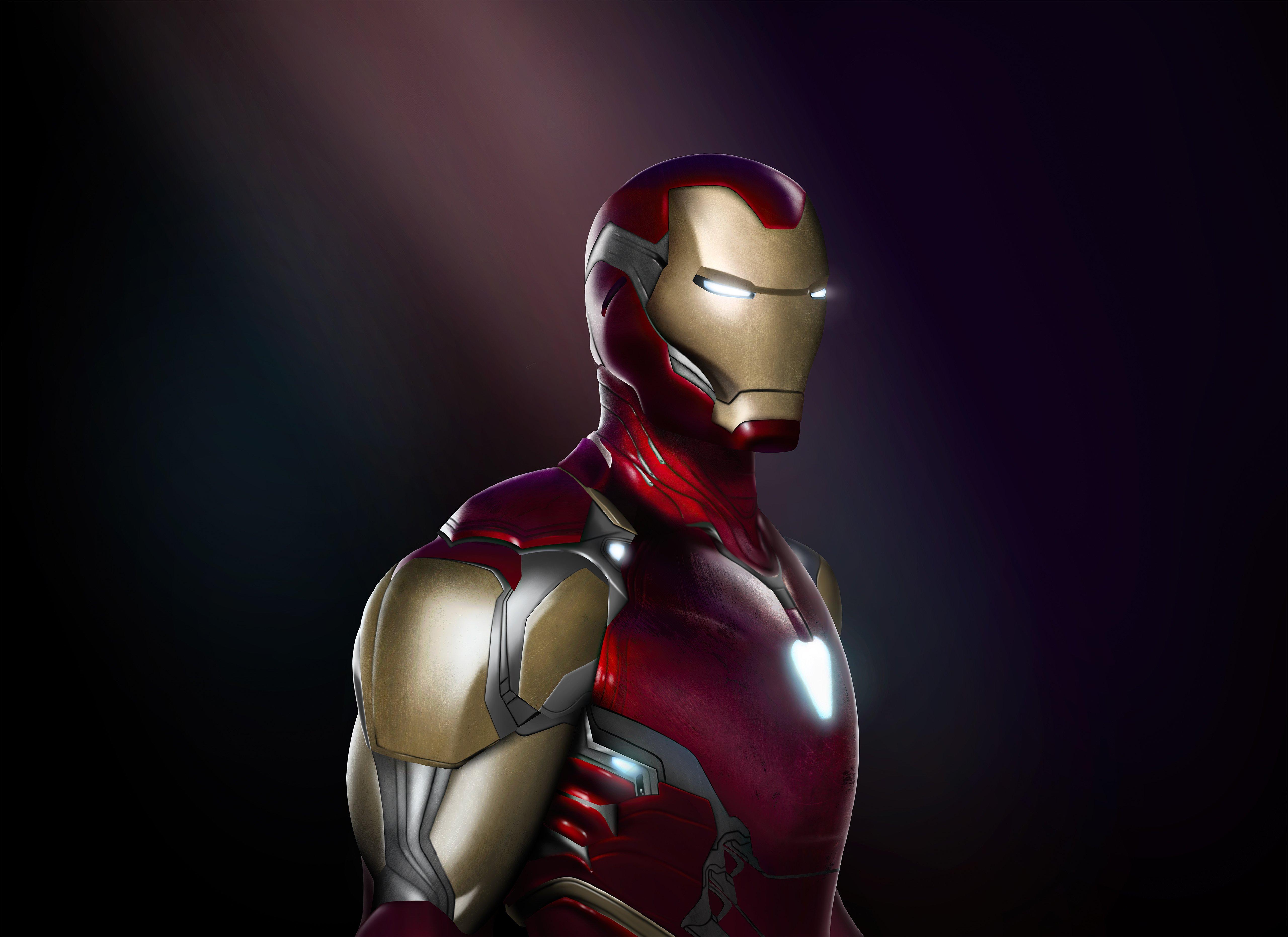 Fondos de pantalla Iron Man End Game