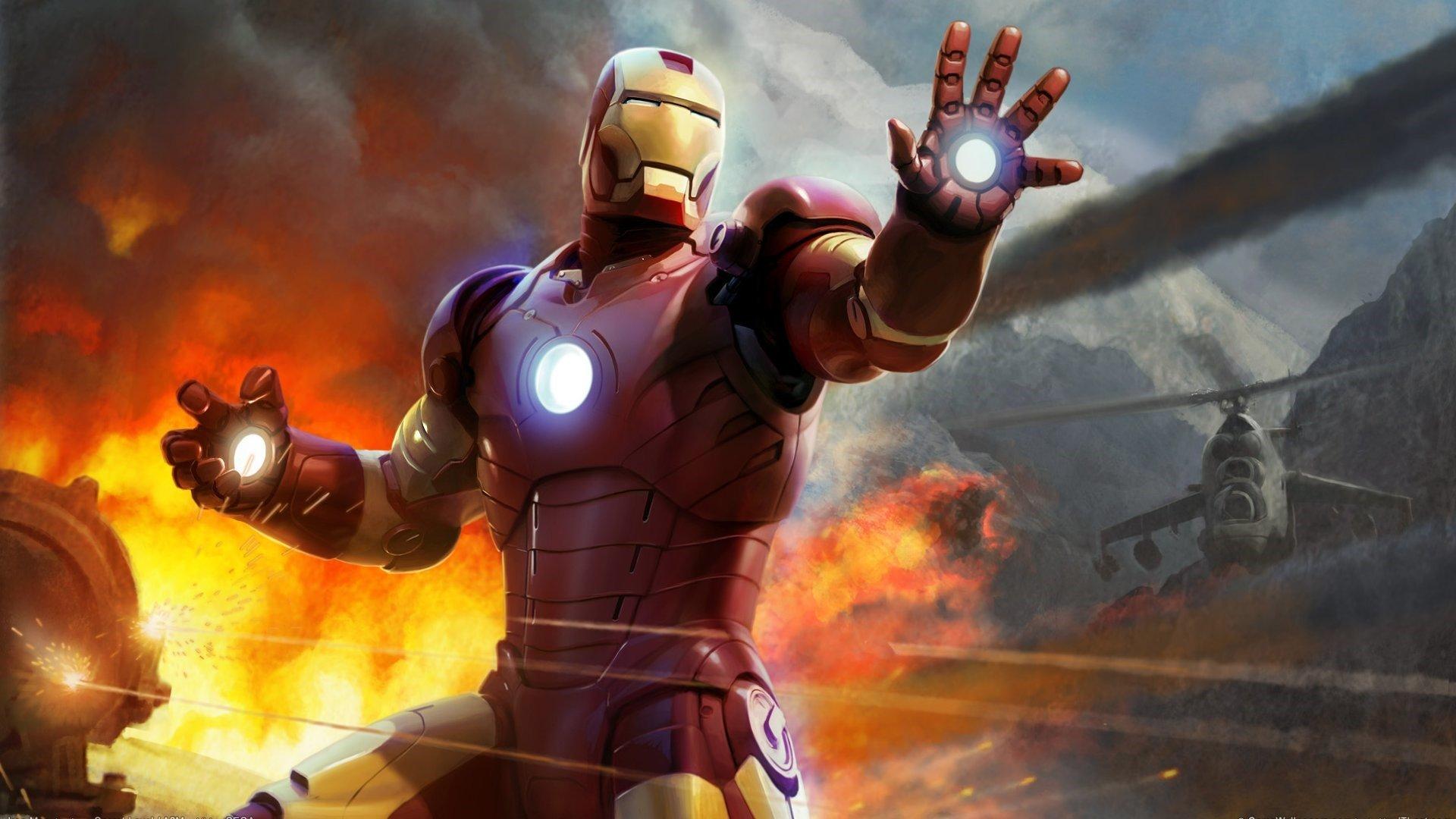 Fondo de pantalla de Iron Man Ilustración Imágenes