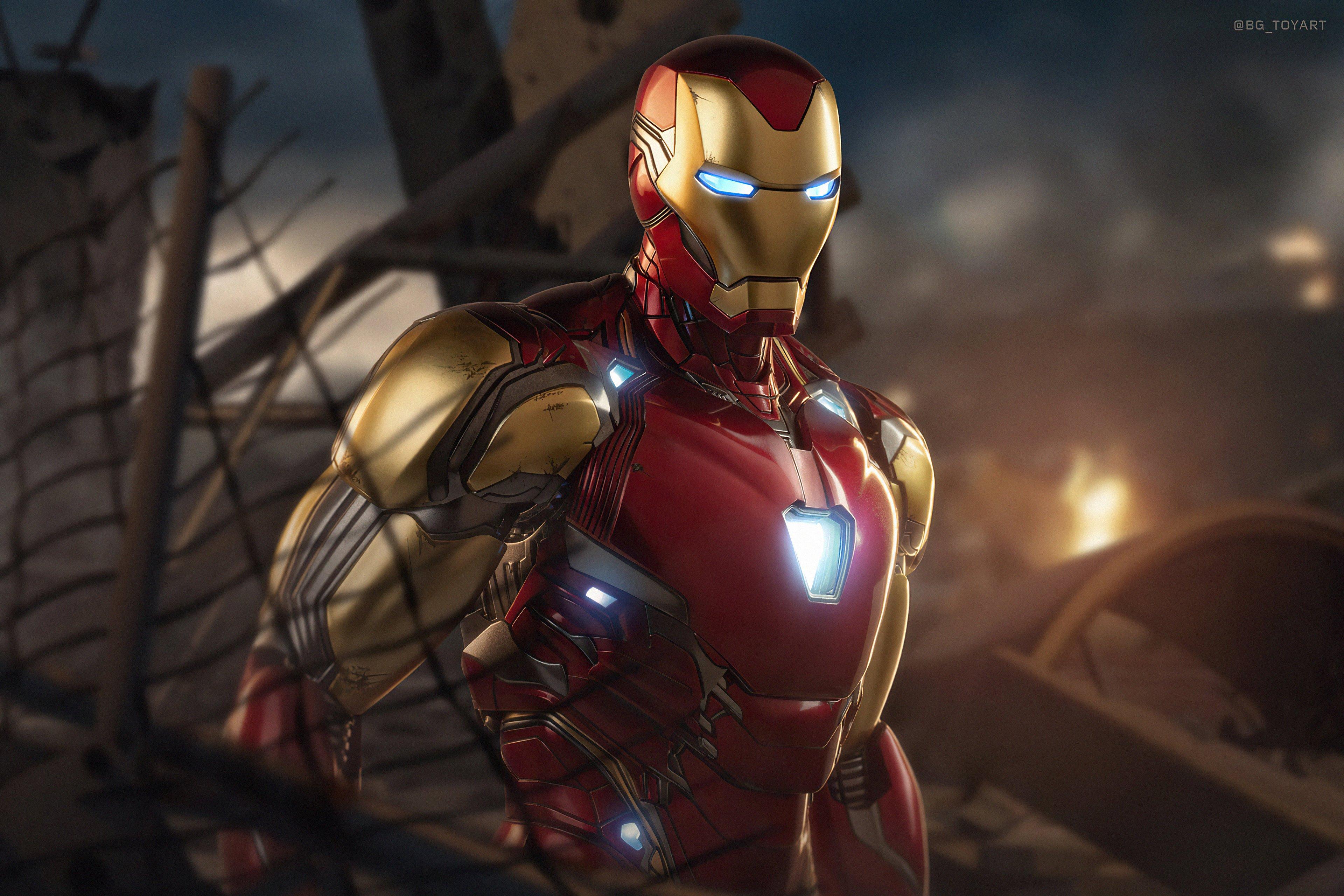 Wallpaper Iron Man Avengers 4