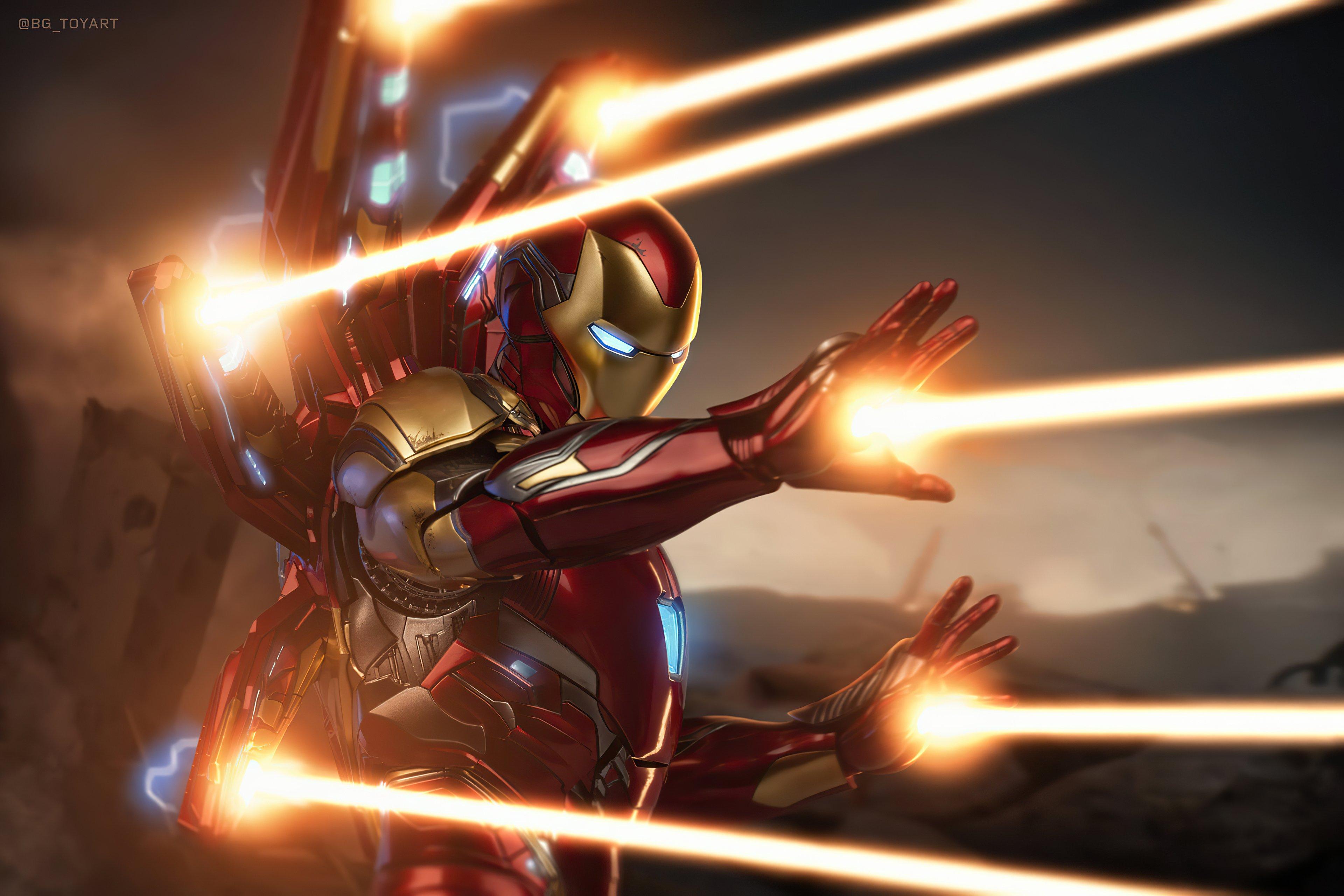Wallpaper Iron Man mark 85