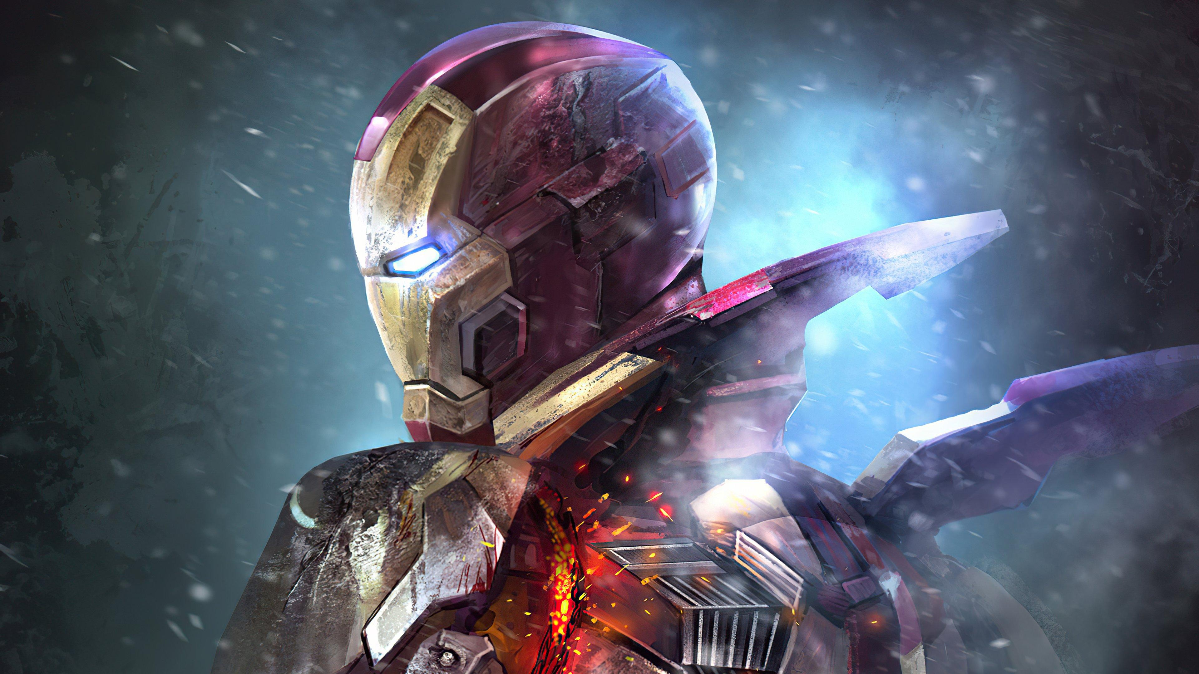 Wallpaper Iron Man Mark XLII M7