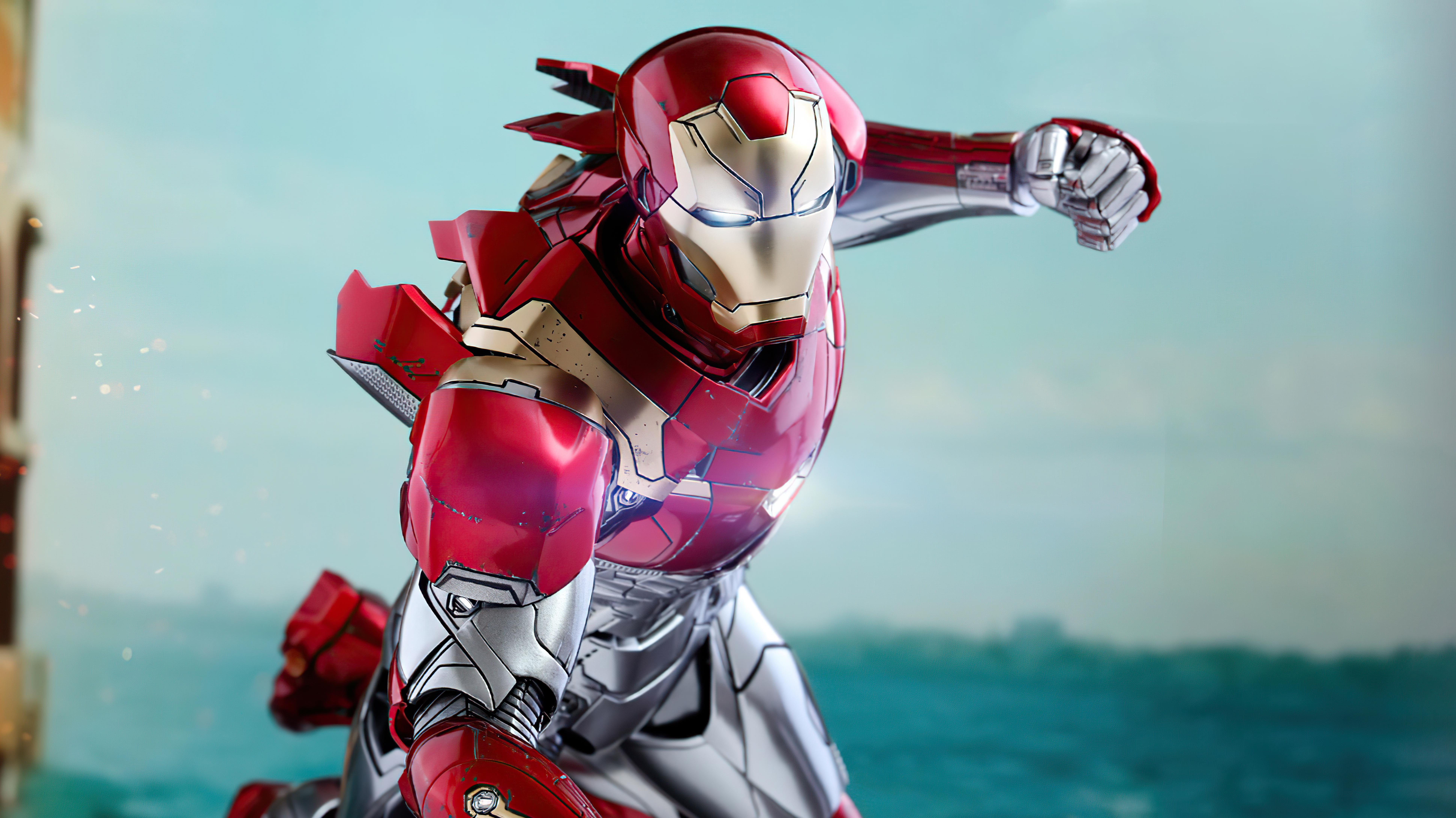 Wallpaper Iron Man Mark XLVII