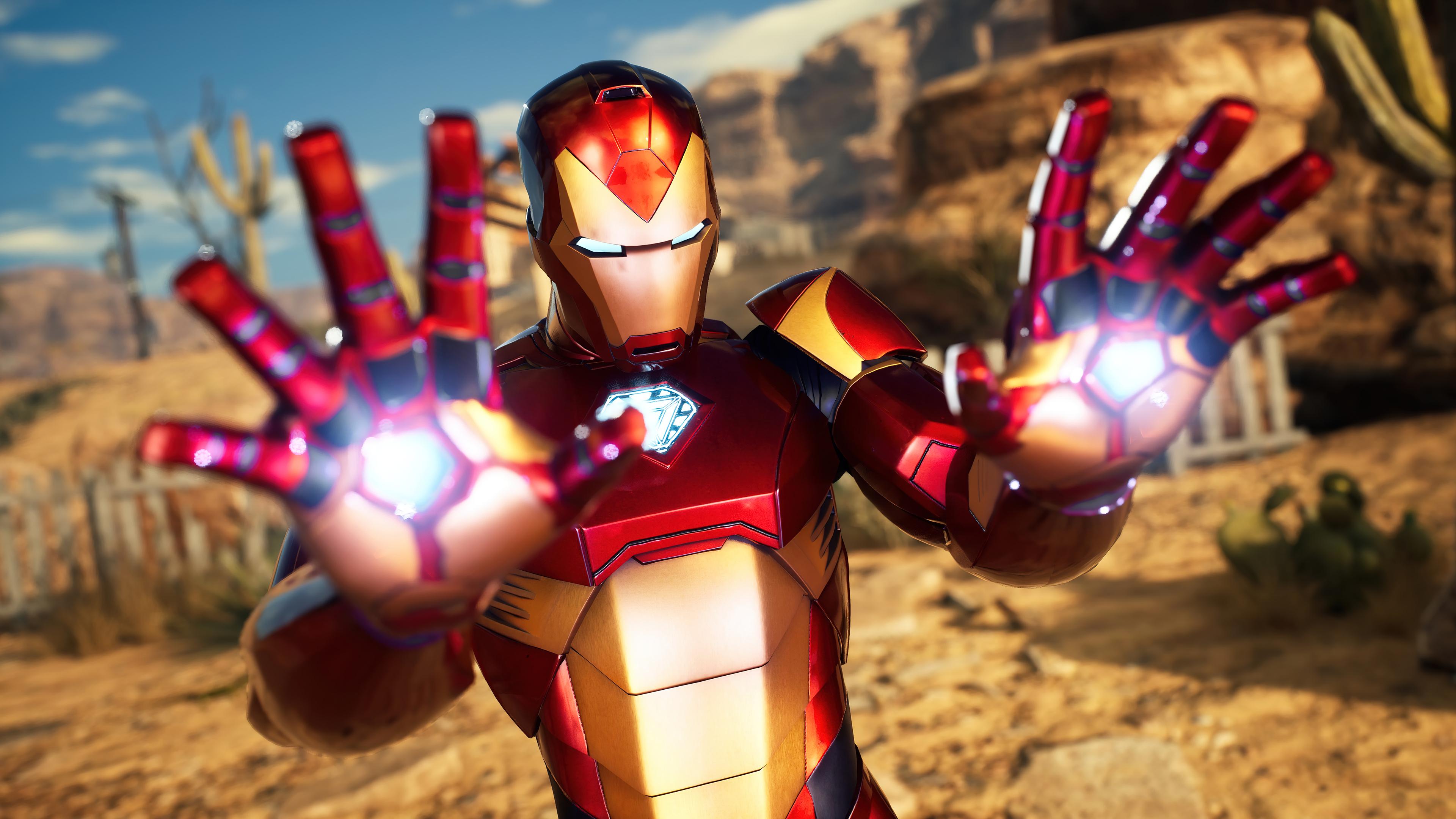 Fondos de pantalla Iron Man Marvel's Midnight suns