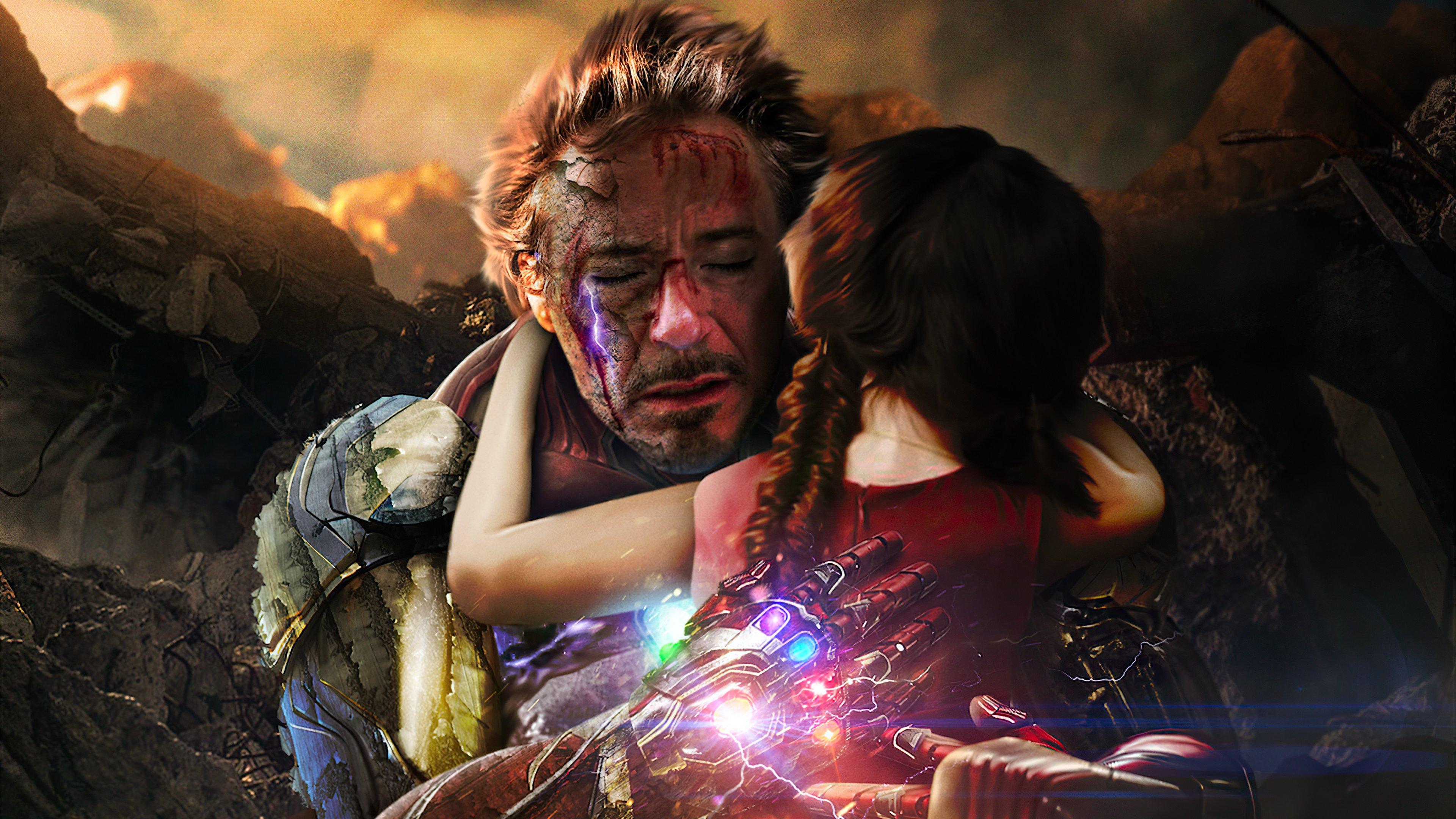 Fondos de pantalla Iron Man Te amo 3000