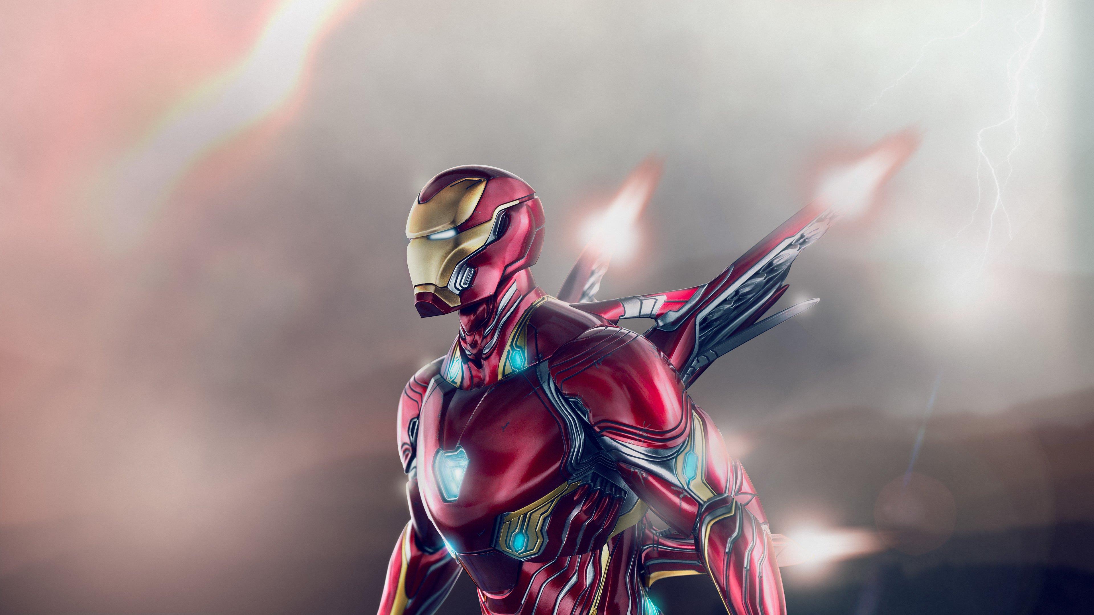 Wallpaper Iron Man wing suit