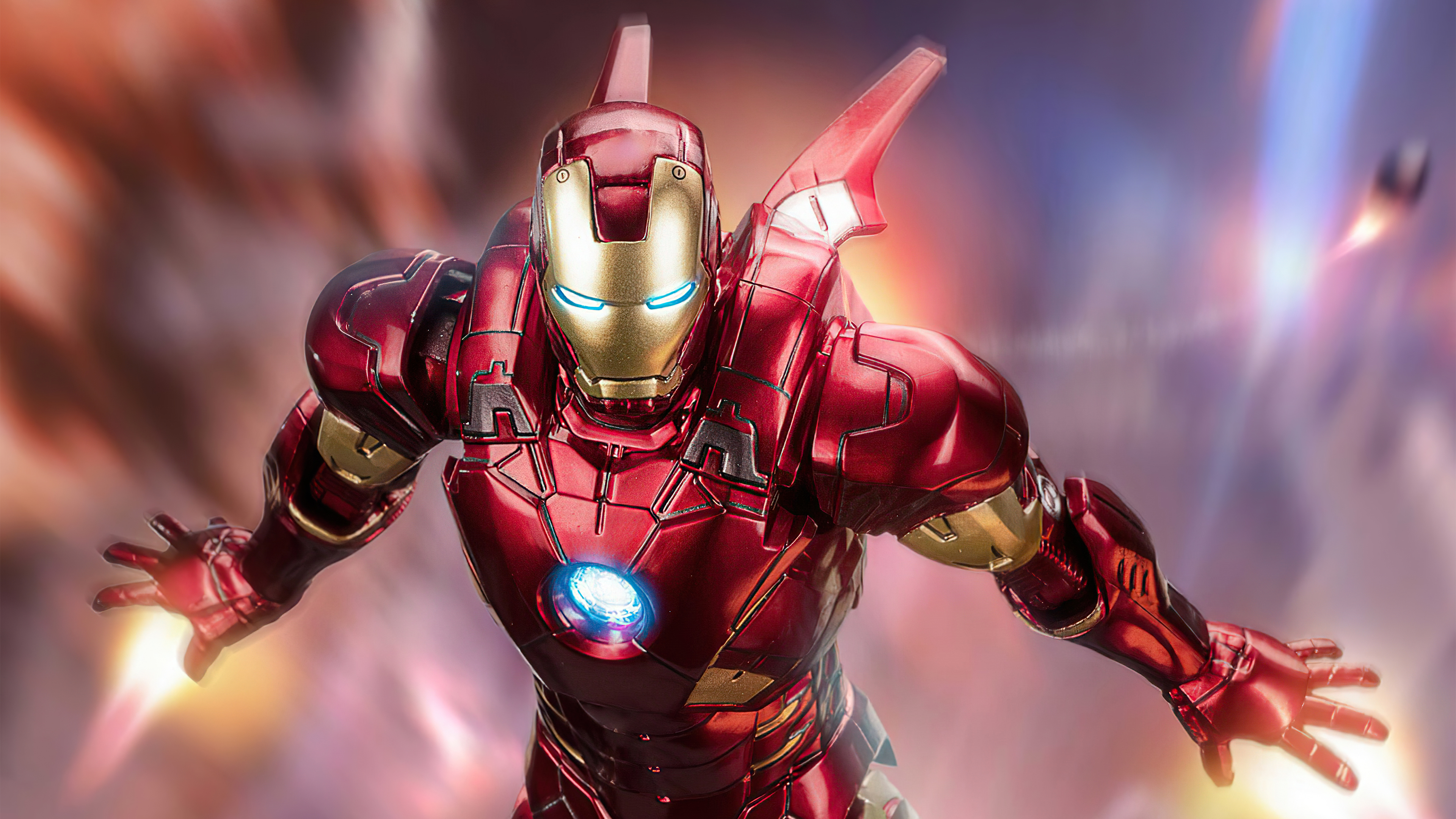Fondos de pantalla Iron Man volando