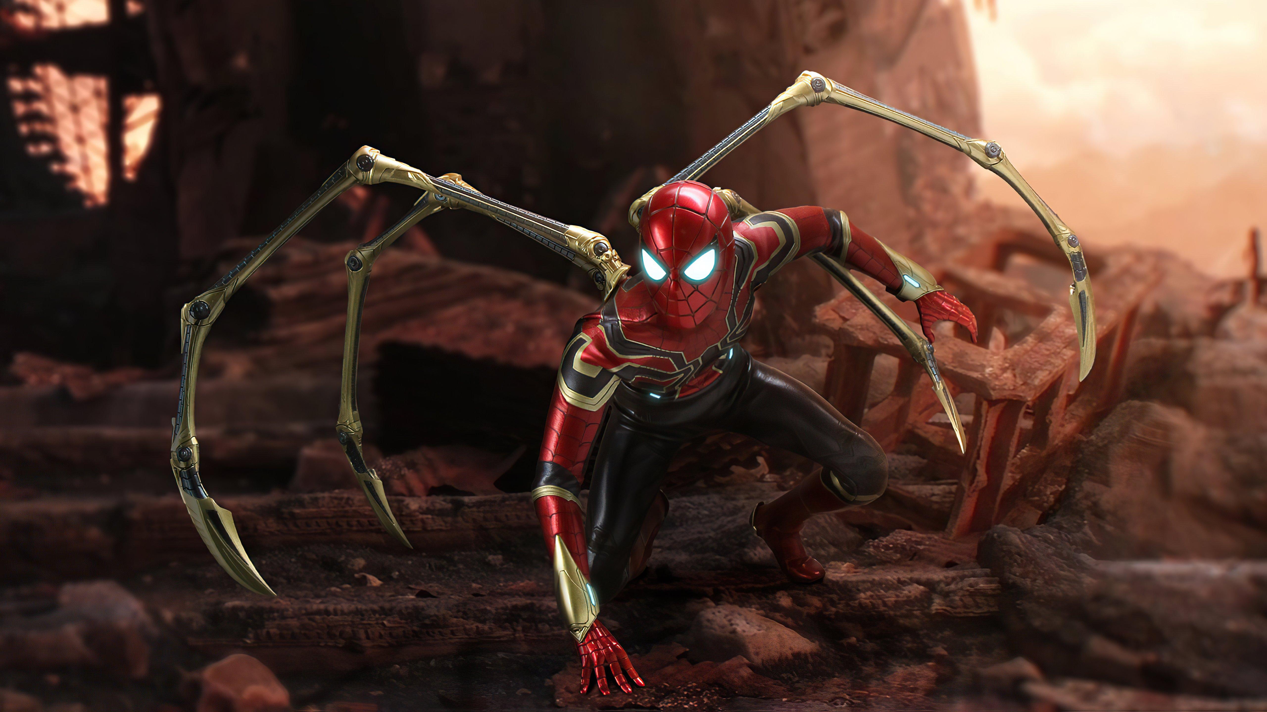Fondos de pantalla Iron Spider