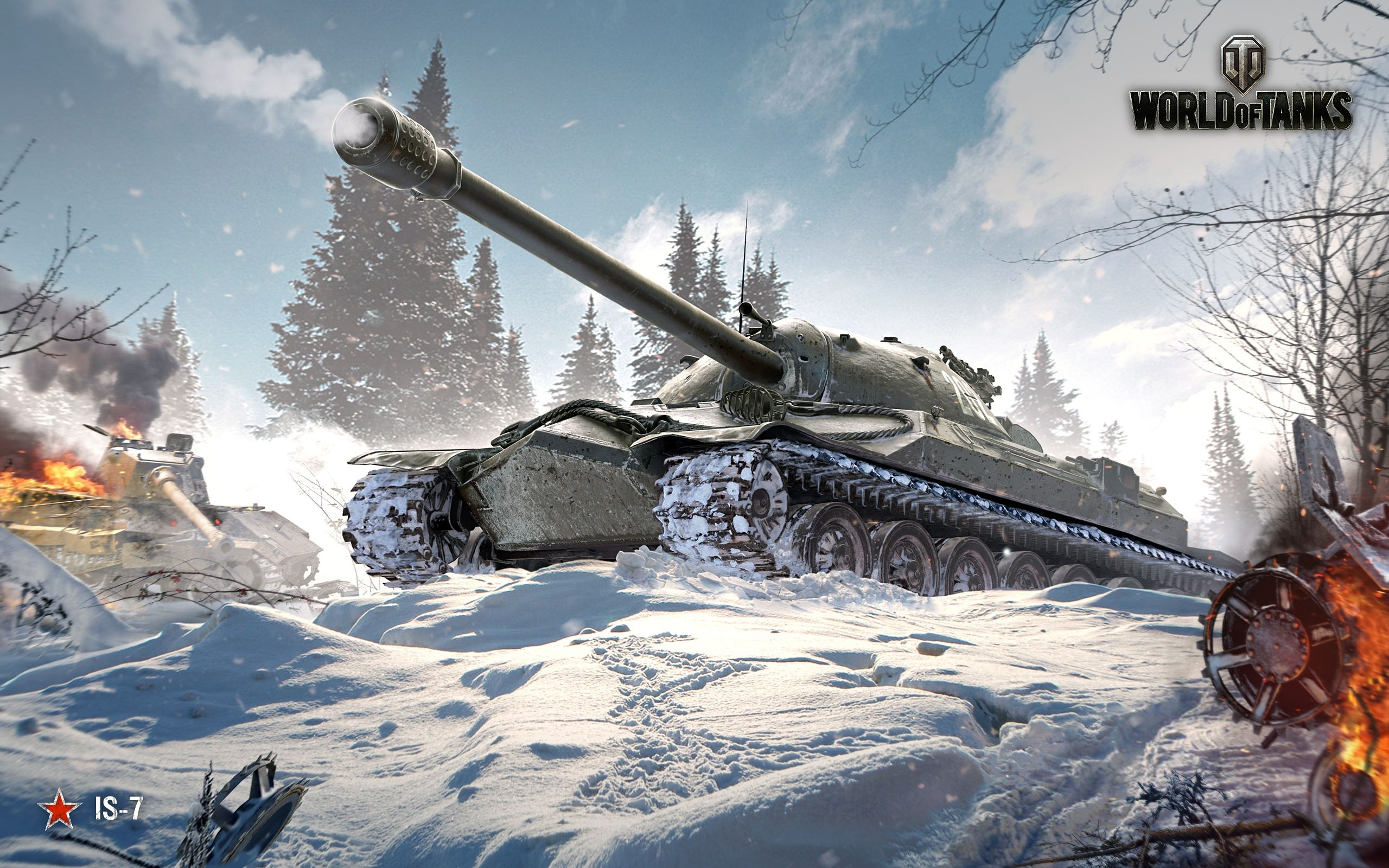IS de World Of Tanks Wallpaper k Quad HD