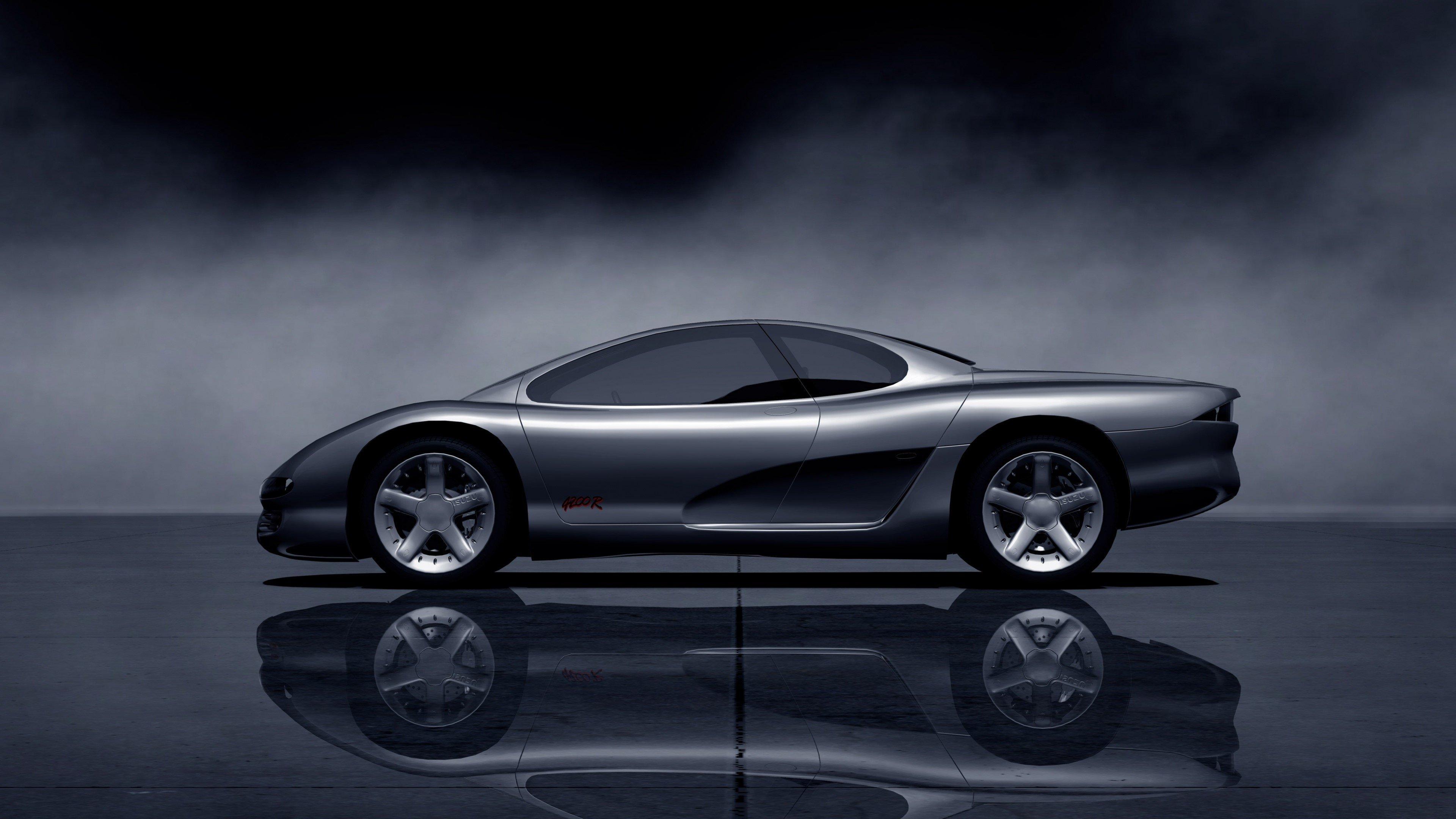 Fondos de pantalla Isuzu 4200R concept  gris oscuro