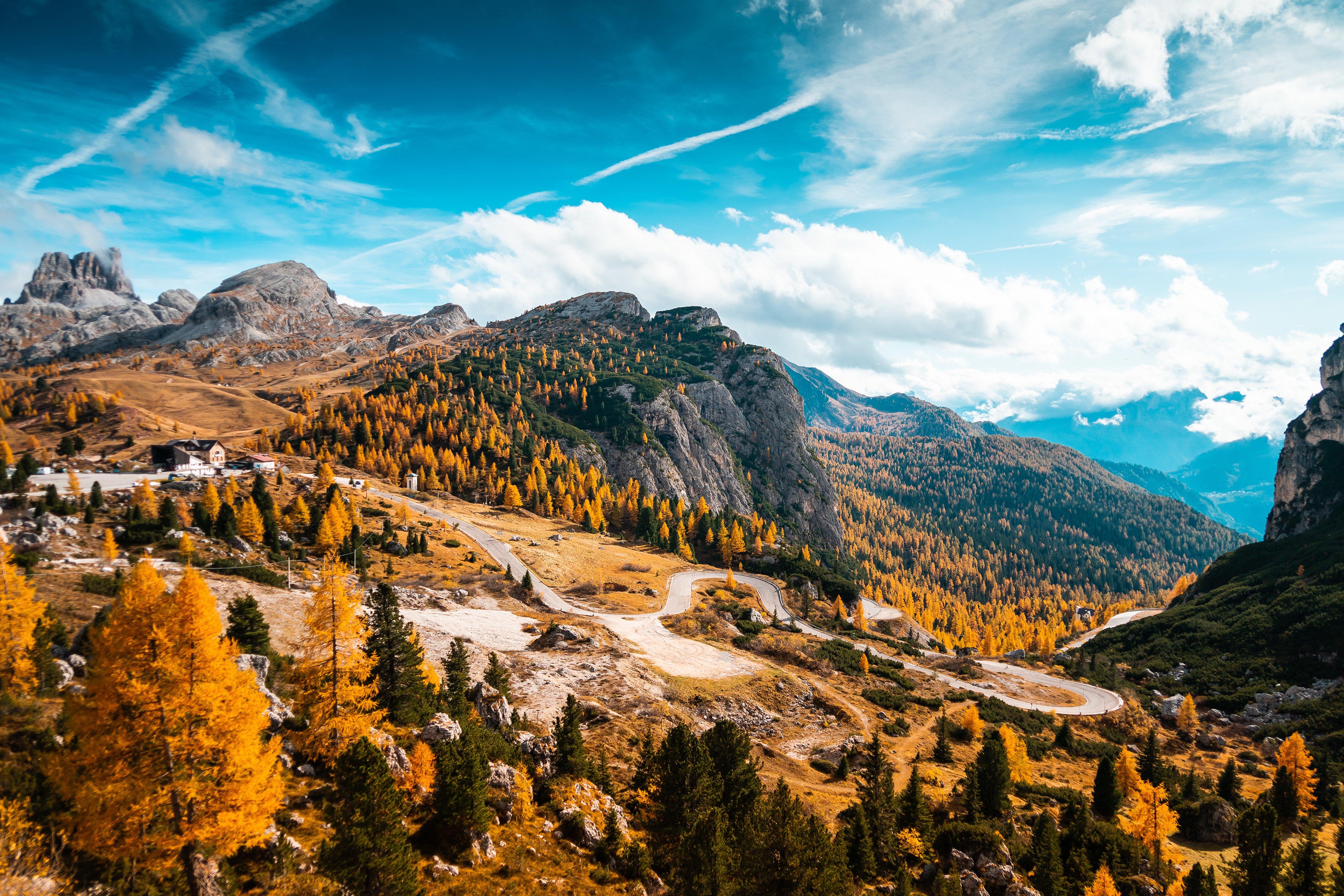 Fondos de pantalla Italia en el otoño