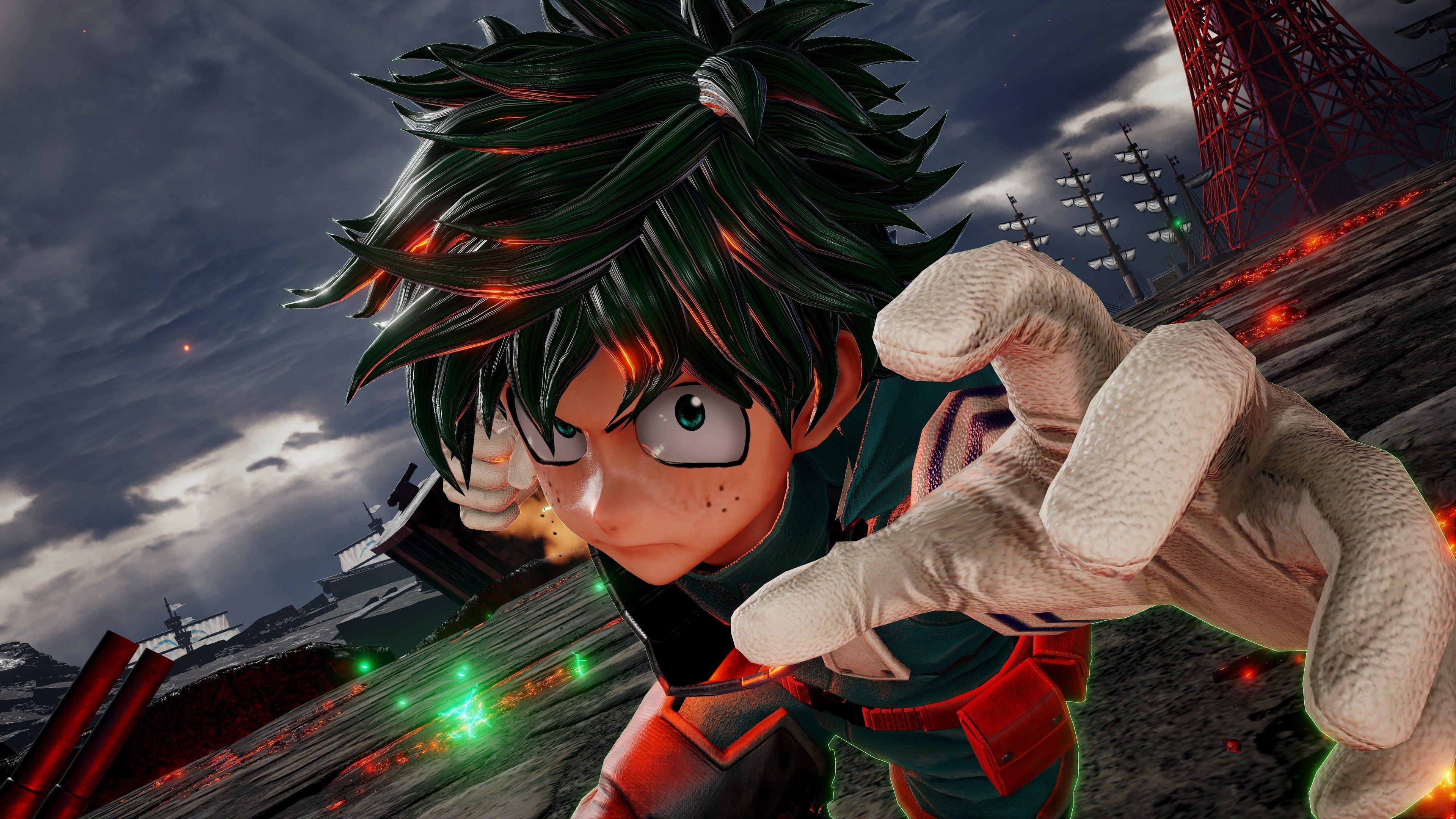Fondos de pantalla Izuku Midoriya de My Hero Academia en Jump Force