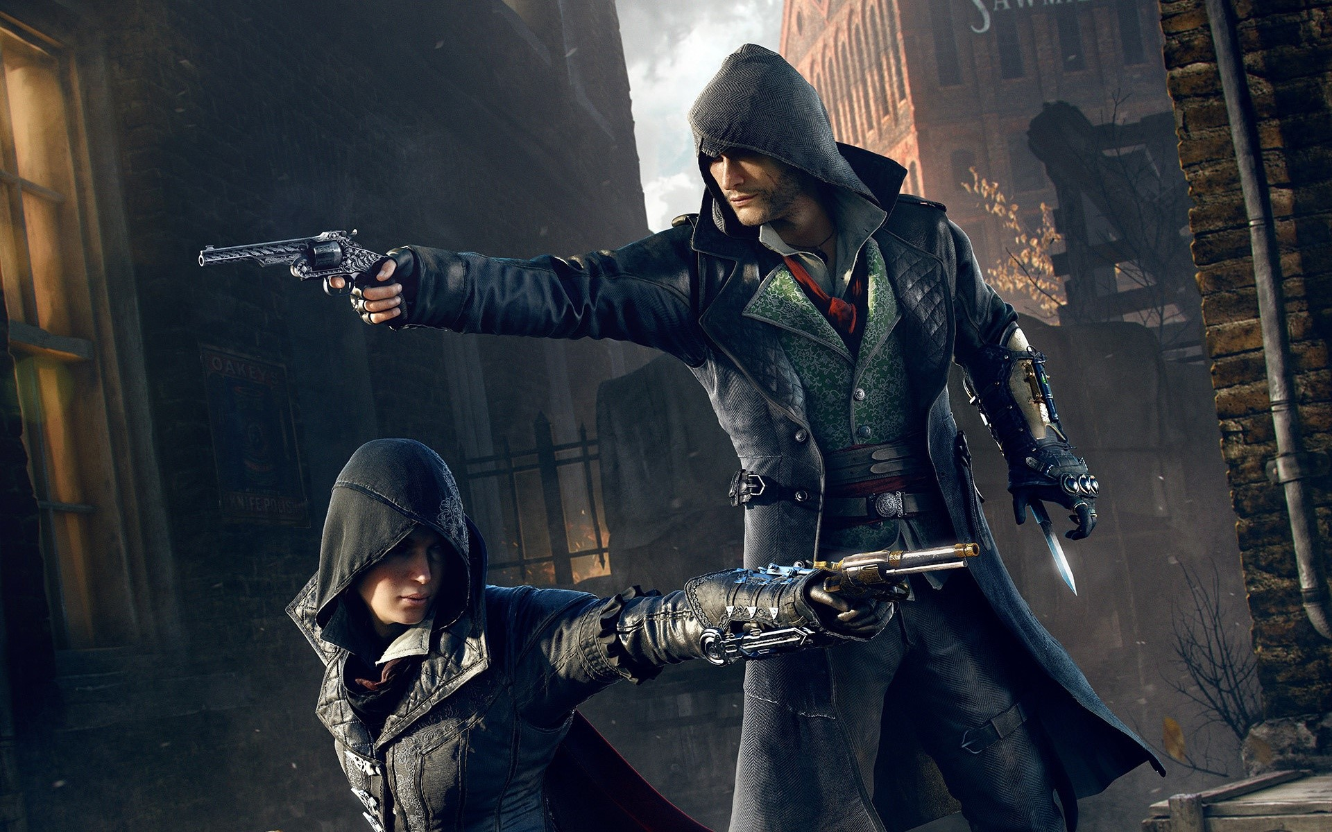 Fondos de pantalla Jacob and Evie Frye de Assassins Creed Syndicatte