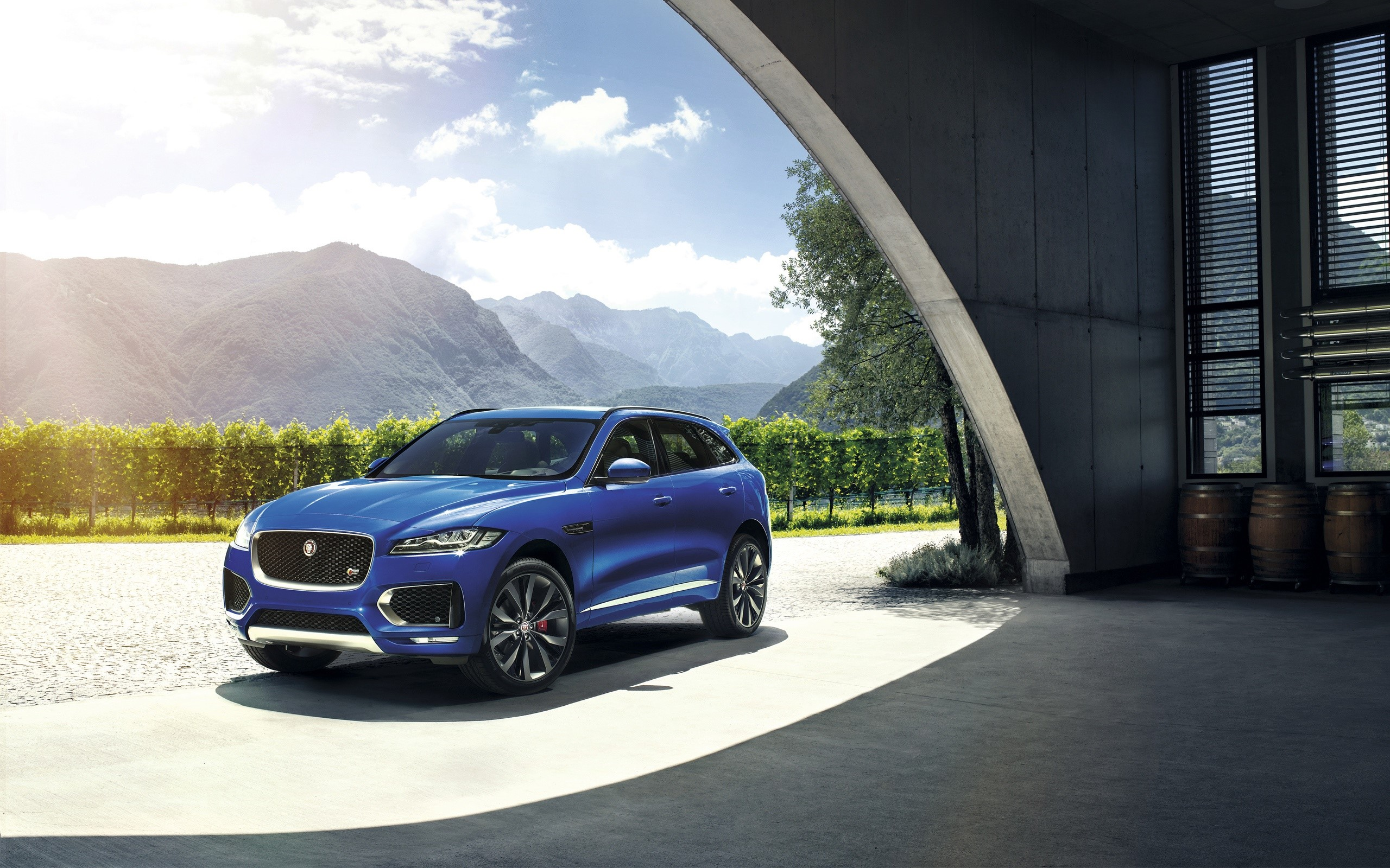 Wallpaper Jaguar F Pace