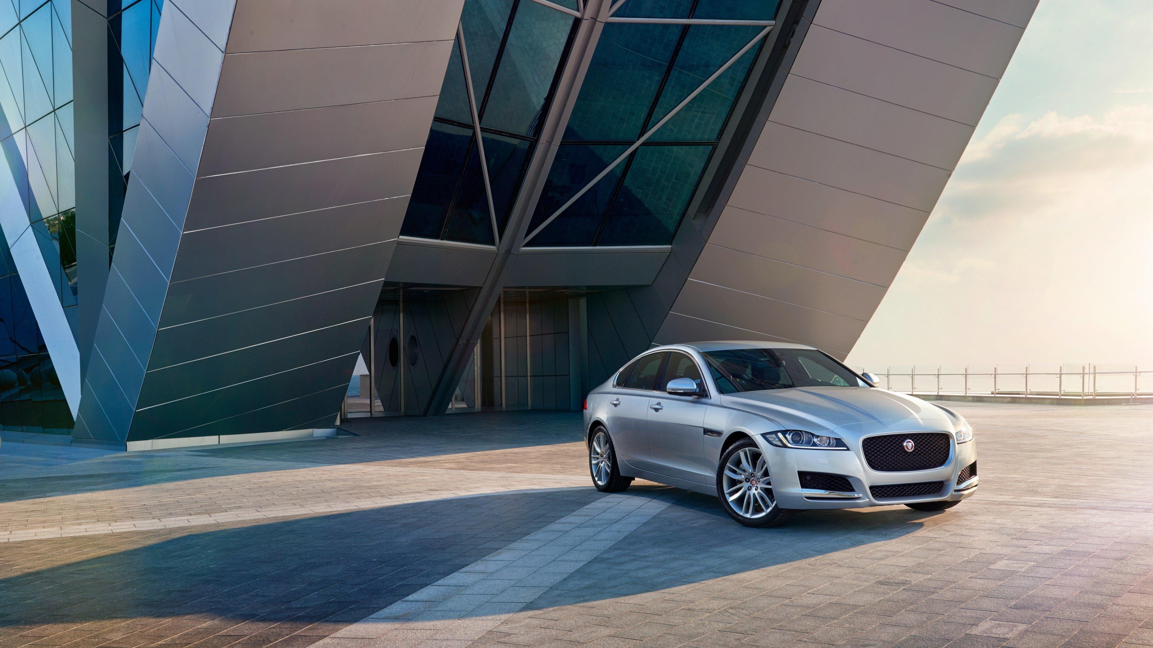 Jaguar Xf Prestige Gray Wallpaper 4k Ultra Hd Id 2375