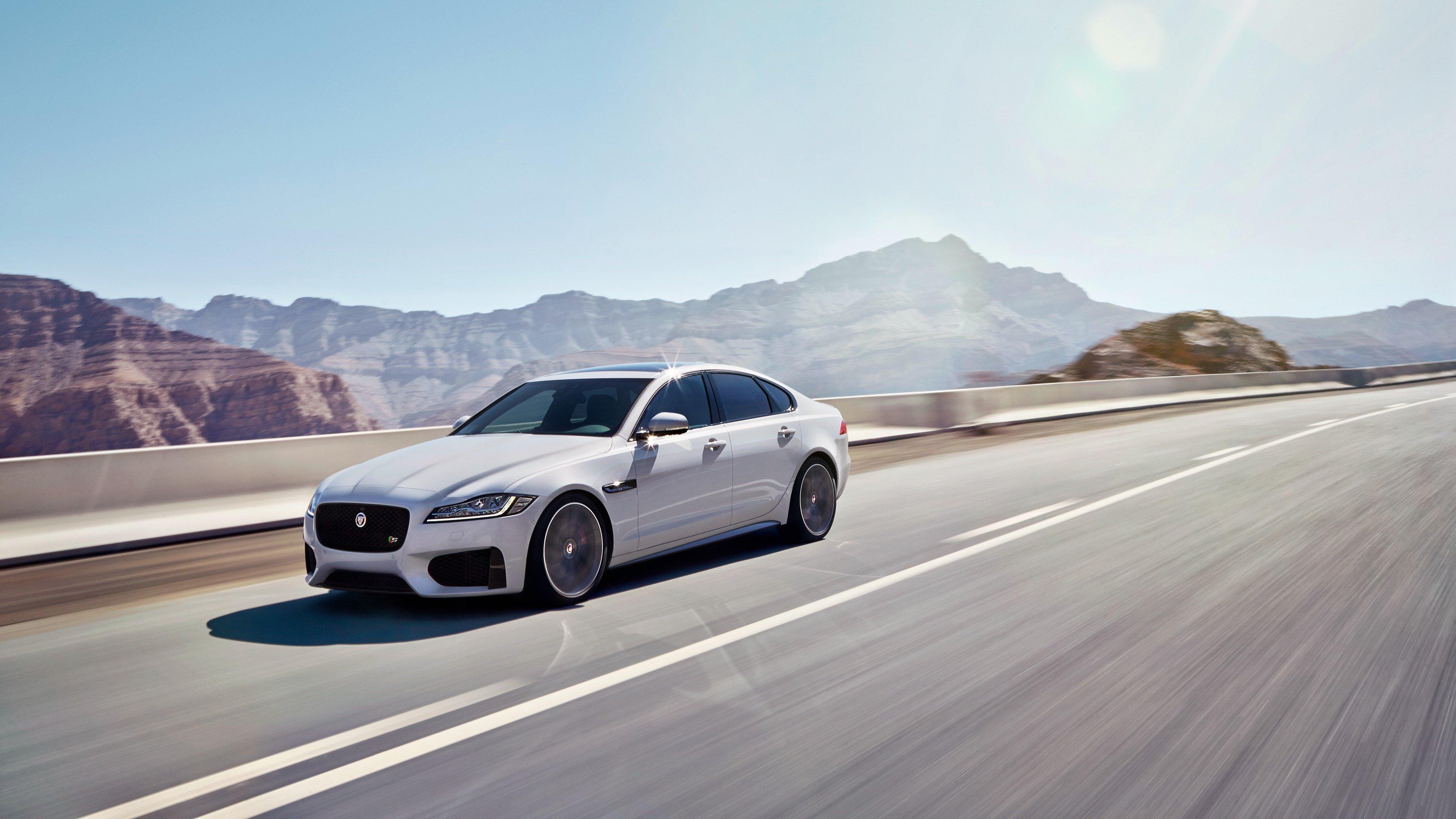 Fondos de pantalla Jaguar XF S AWD gris