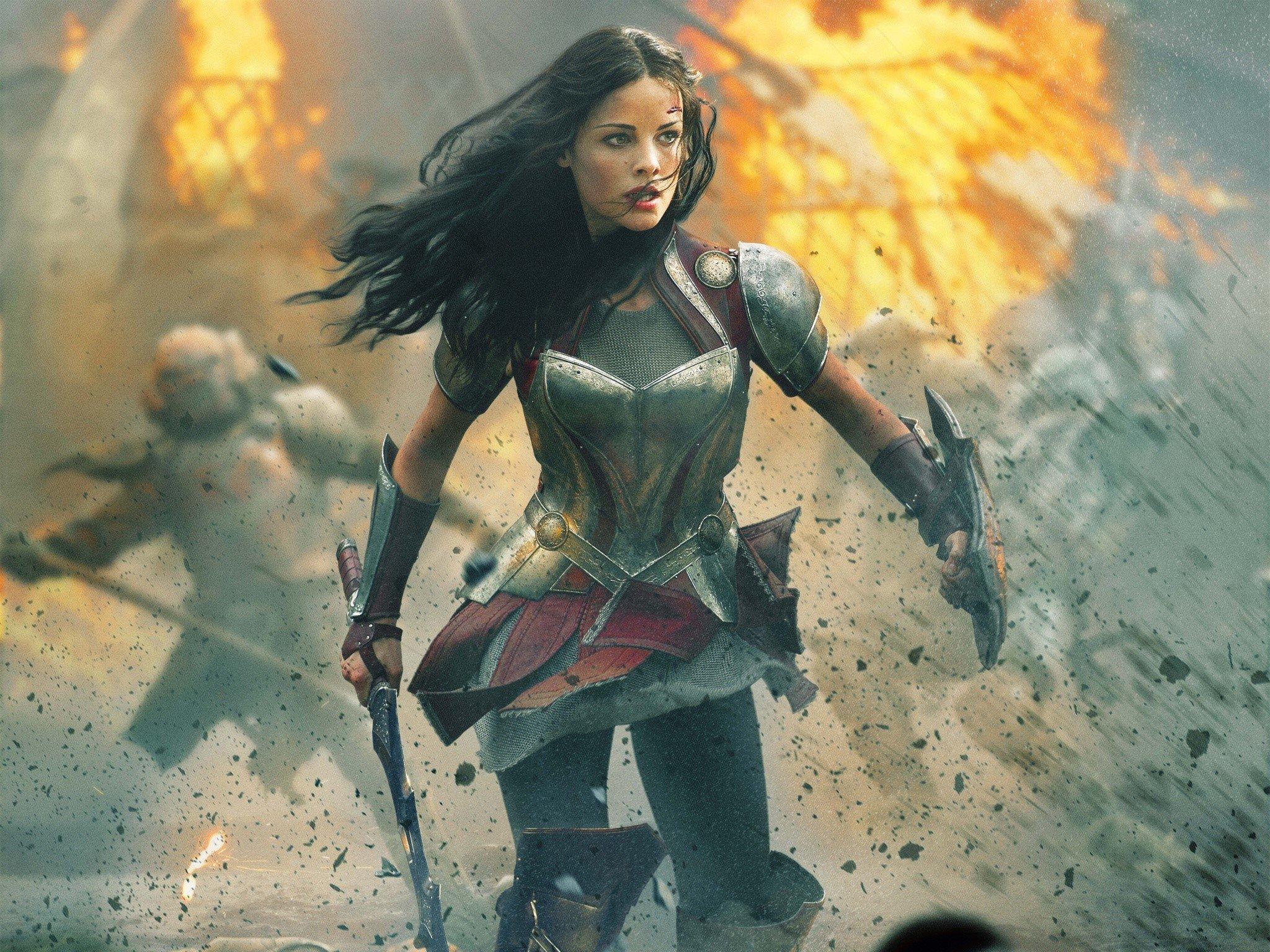Fondos de pantalla Jaimie Alexander en Thor 2
