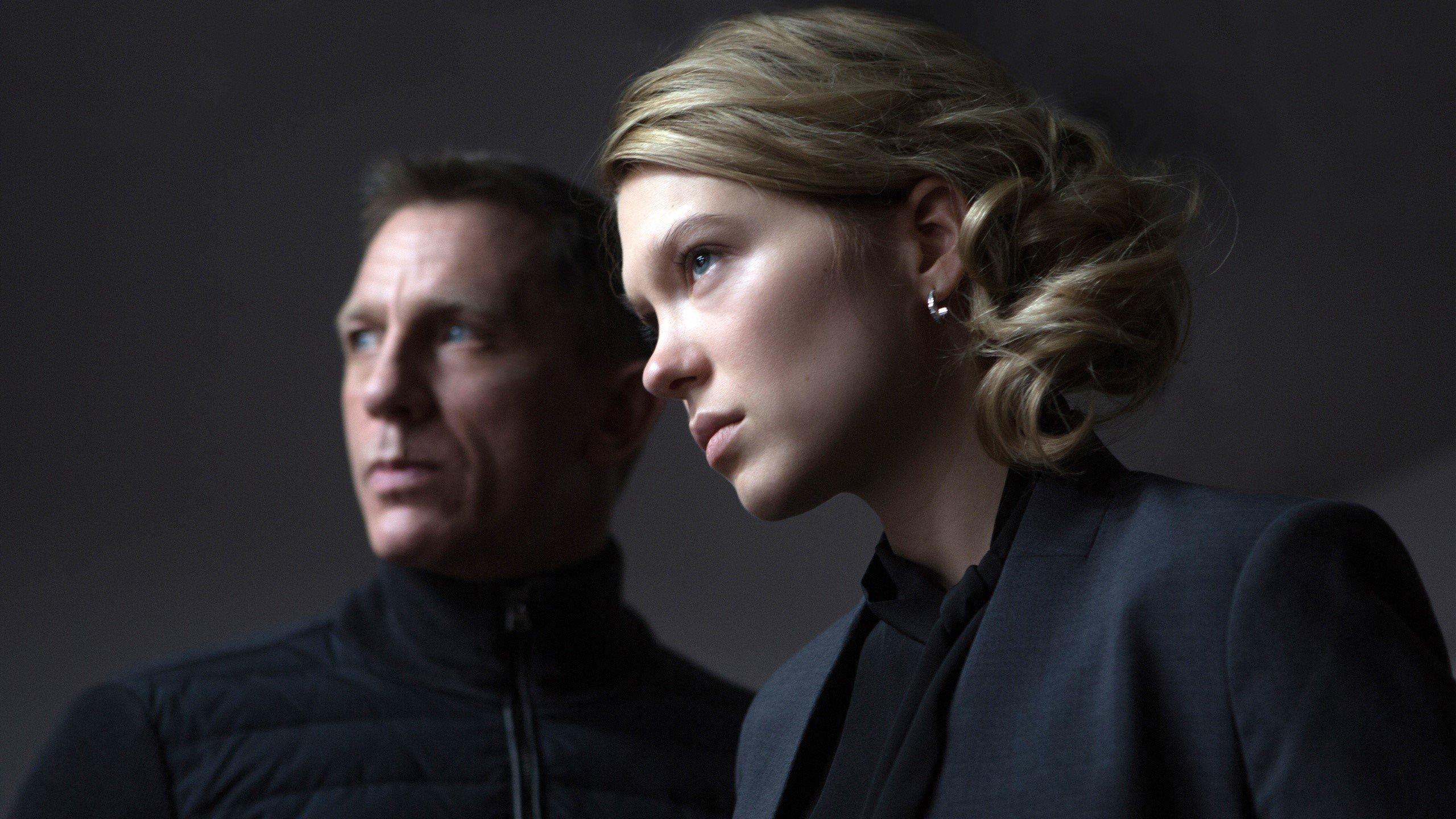 Fondos de pantalla James Bond y Madeleine Swann en Spectre