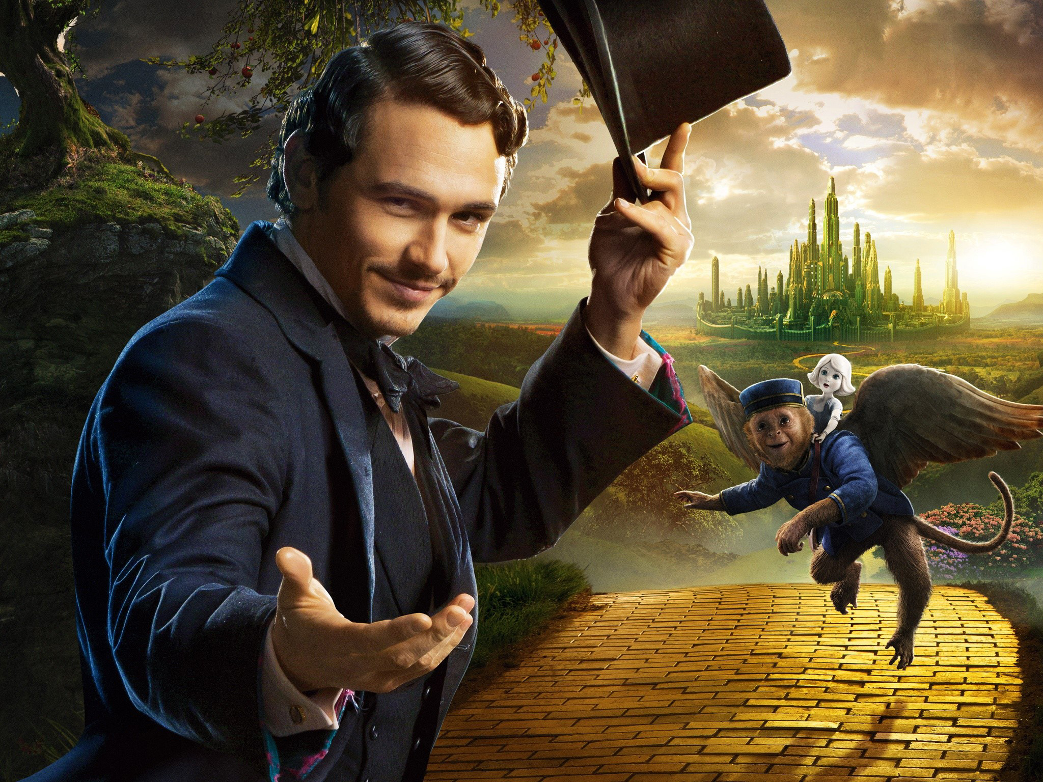 Wallpaper James Franco in Oz The powerful
