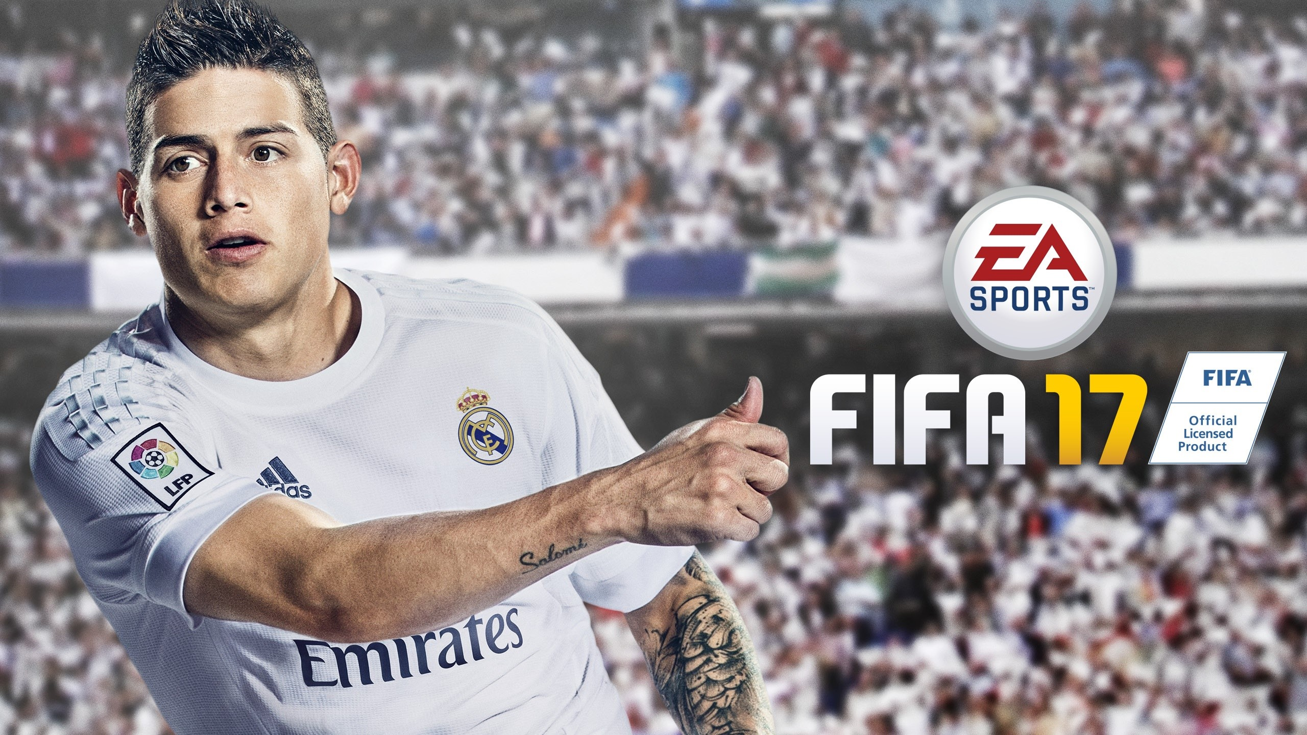 Wallpaper James Rodriguez en Fifa 17 Images