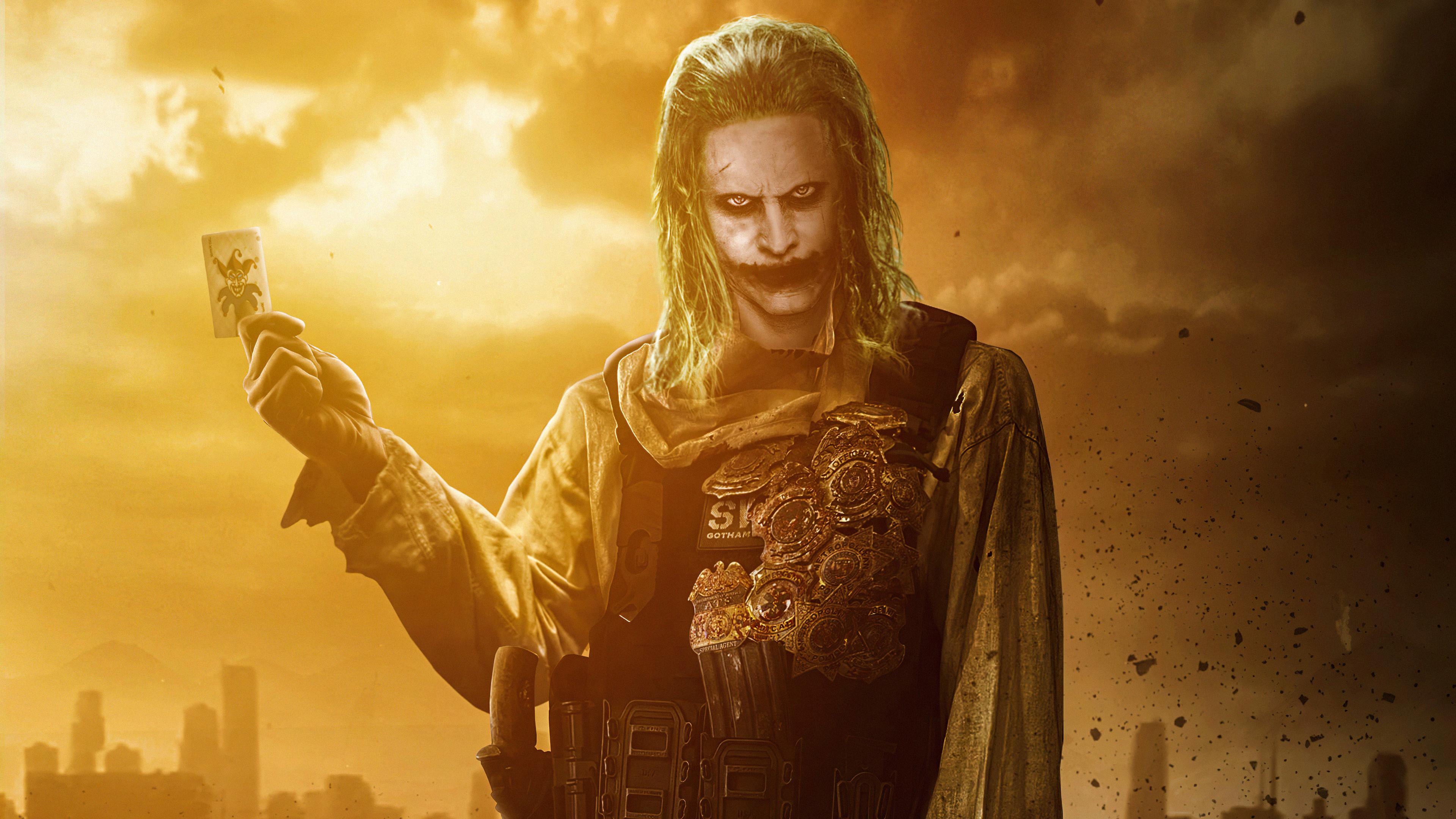 Fondos de pantalla Jared Leto como el Guasón en Liga de la justicia 2021