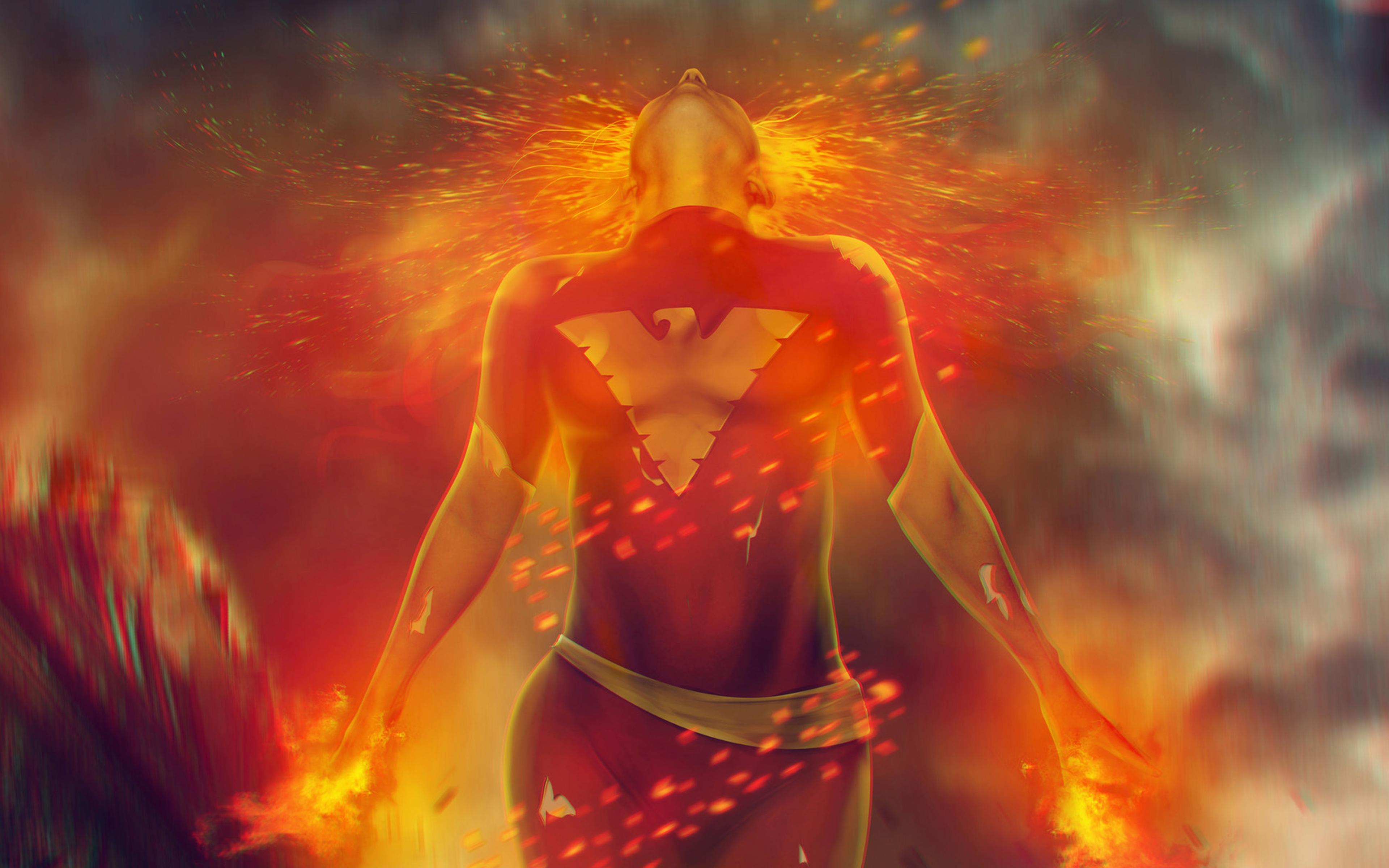 Jean Grey From X Men Dark Phoenix Wallpaper 4k Ultra Hd Id4230
