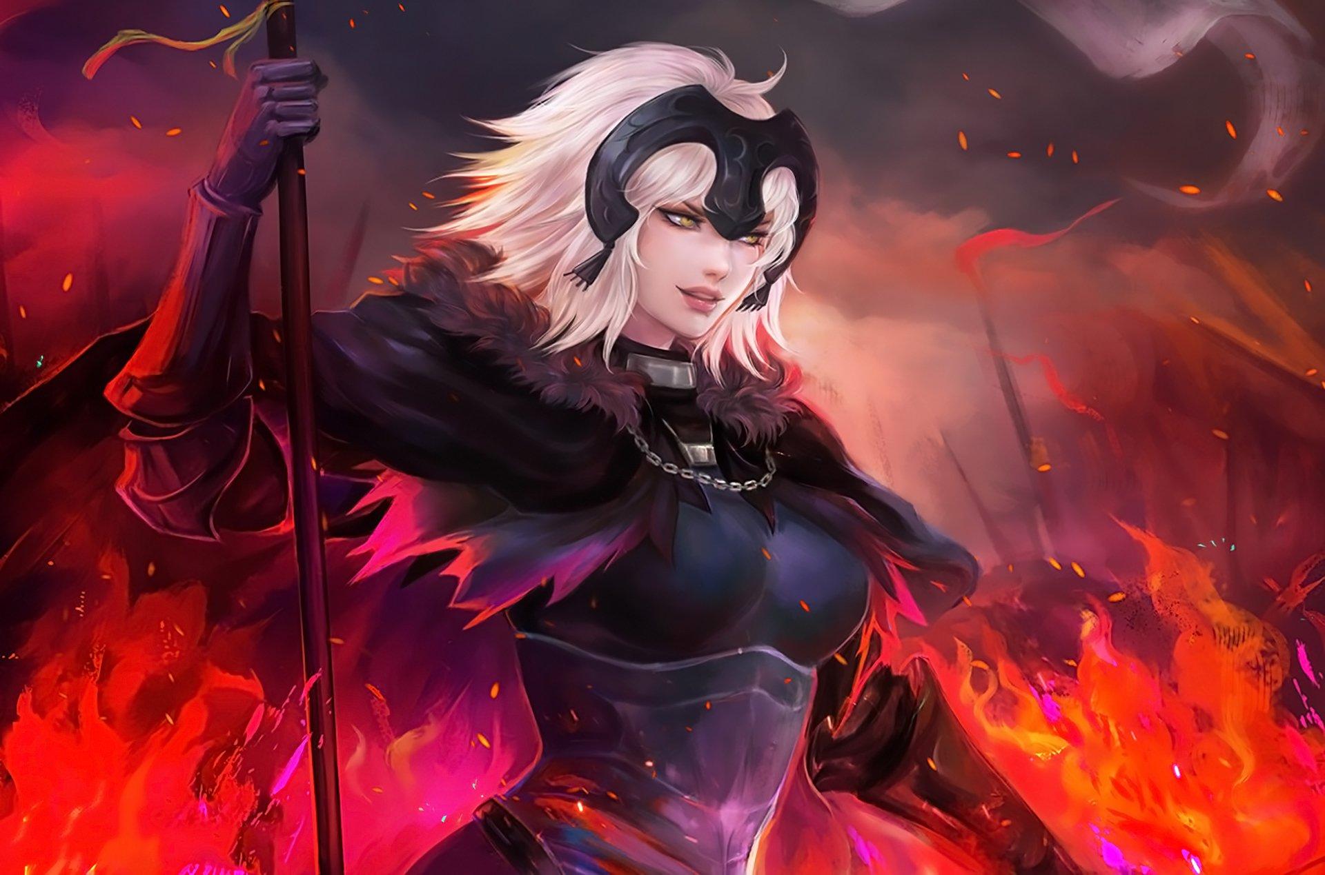 Fondos de pantalla Anime Jeanne de Fate Grand Order