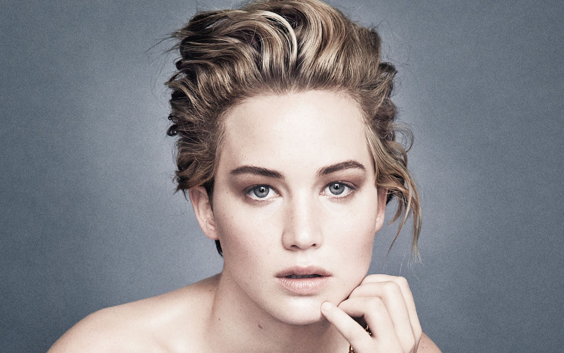 Fondo de pantalla de Jennifer Lawrence con cabello corto Imágenes