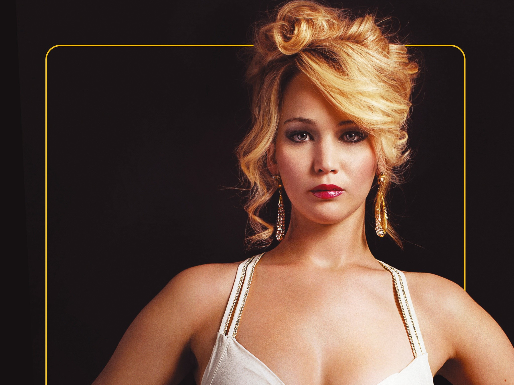 Wallpaper Jennifer Lawrence in American Scandal