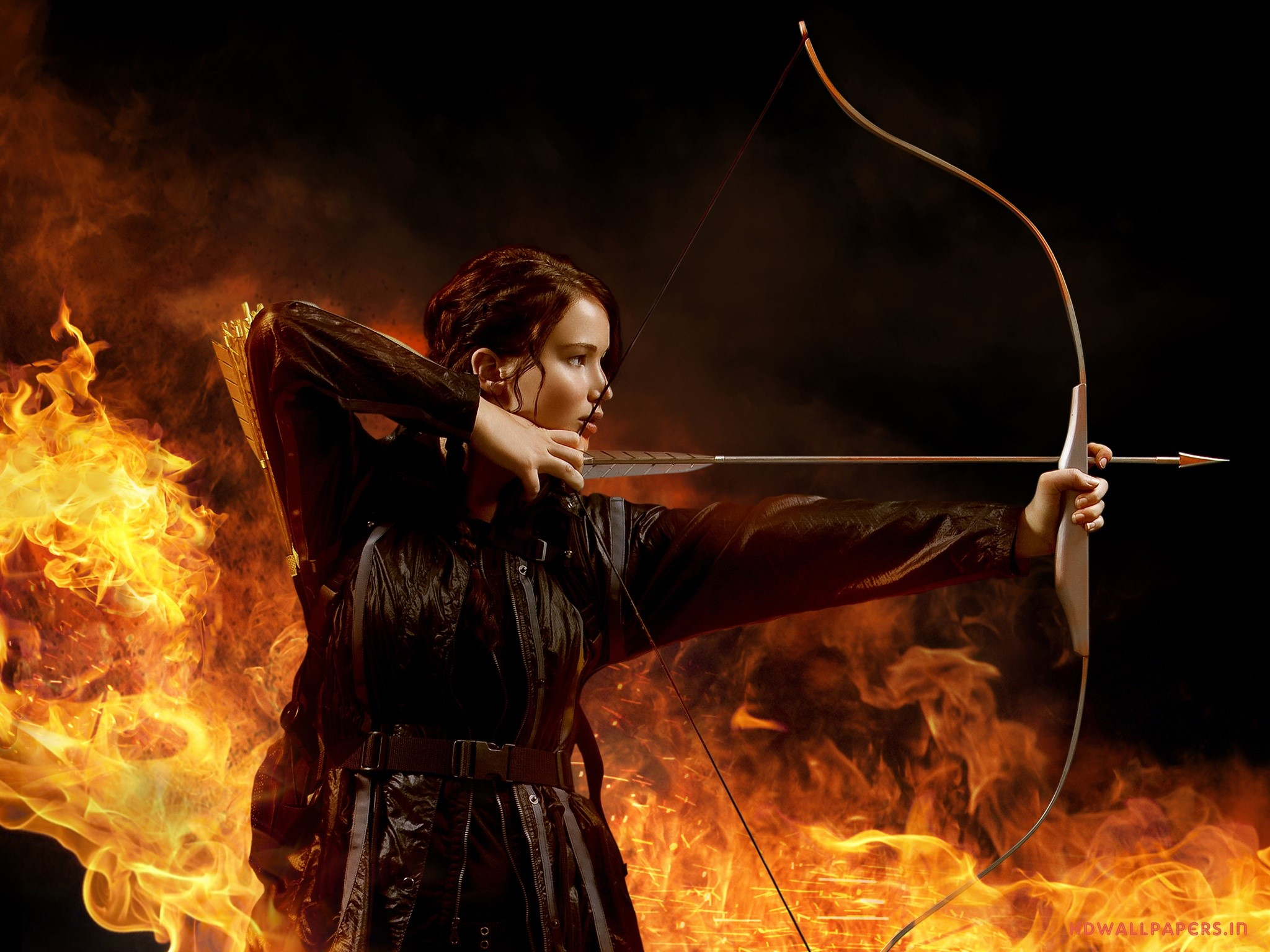 Wallpaper Jennifer Lawrence in The Hunger Games