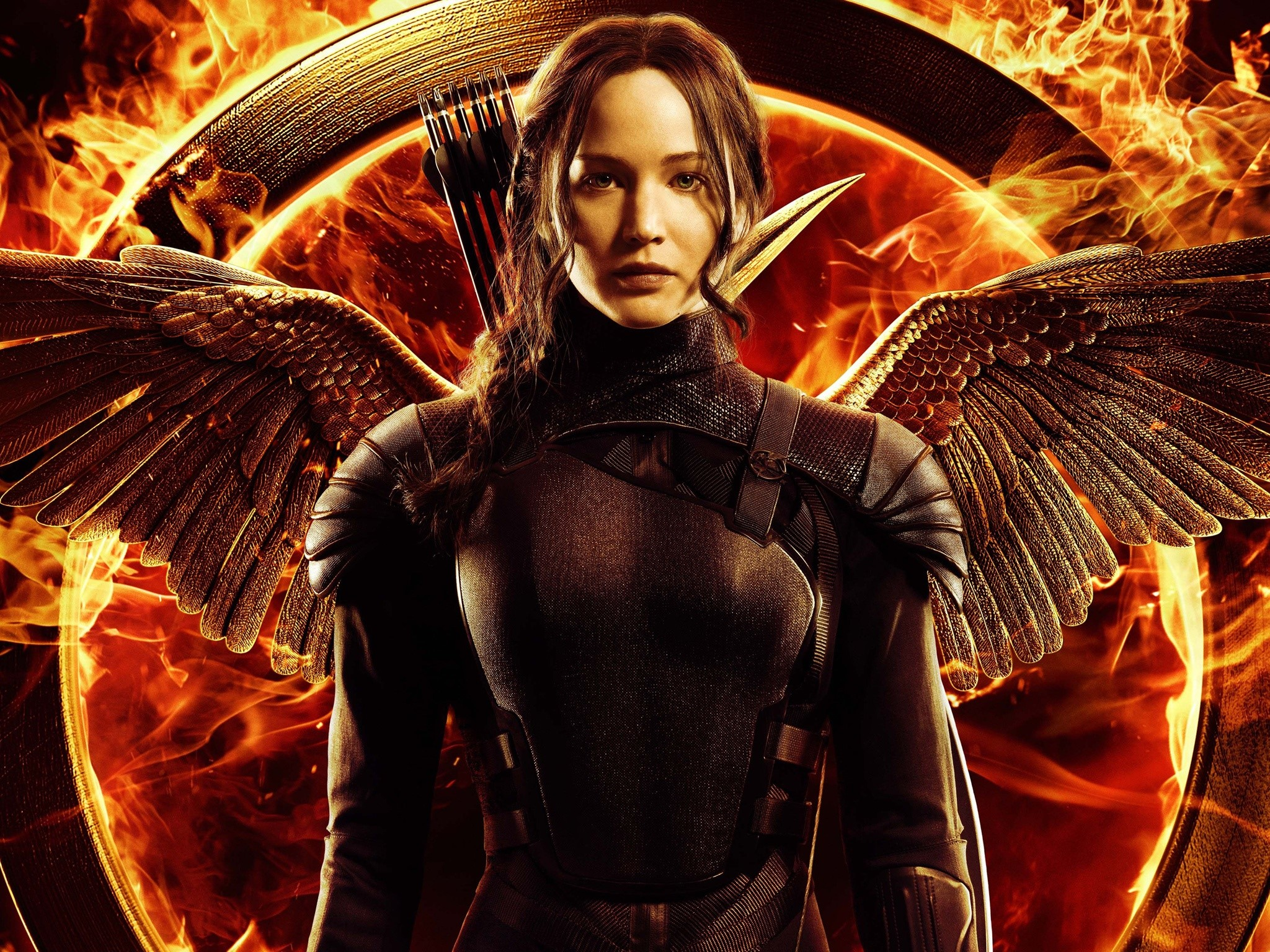 Wallpaper Jennifer Lawrence at Mockingjay 2014