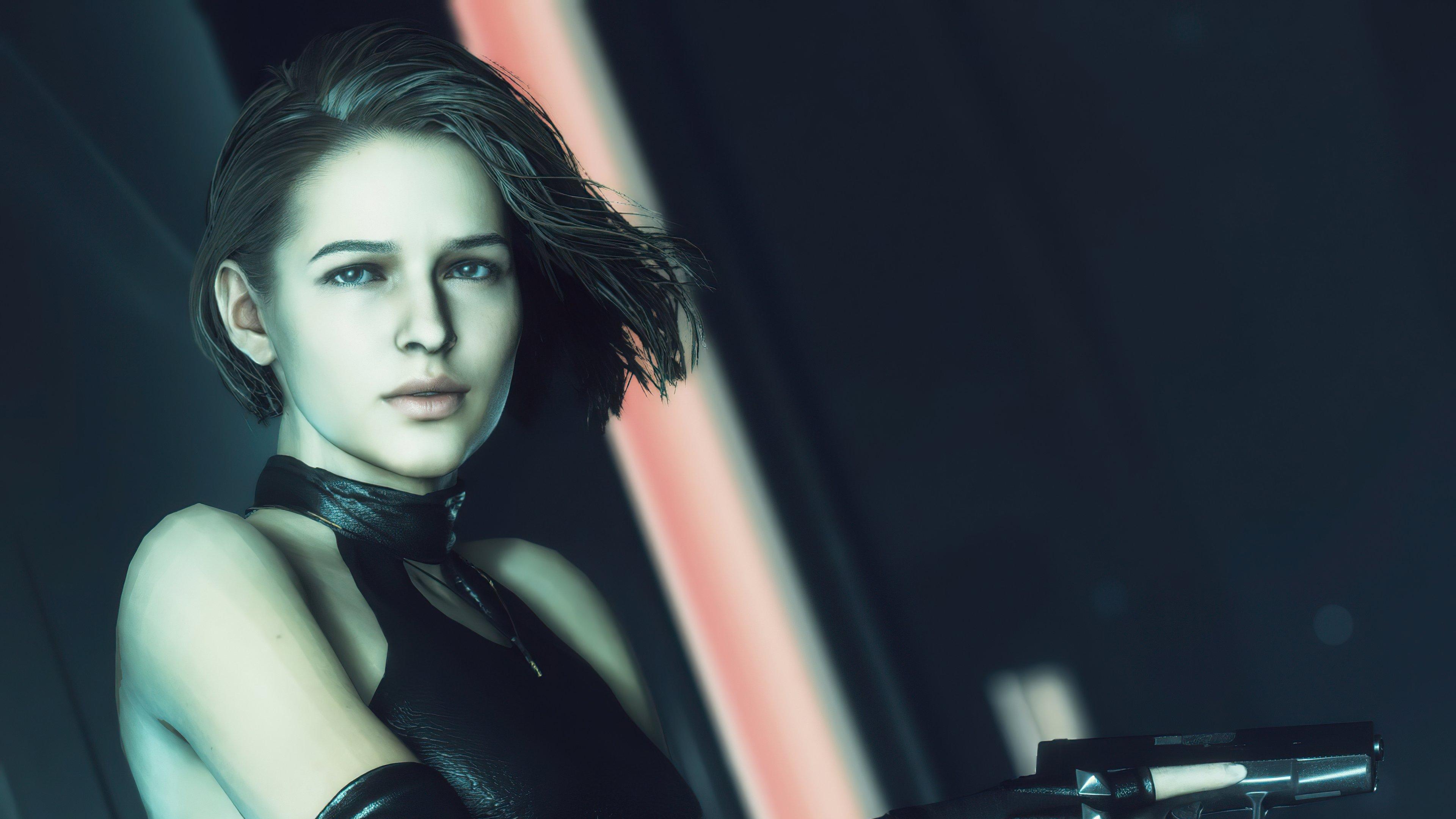 Fondos de pantalla Jill con pistola de Resident Evil