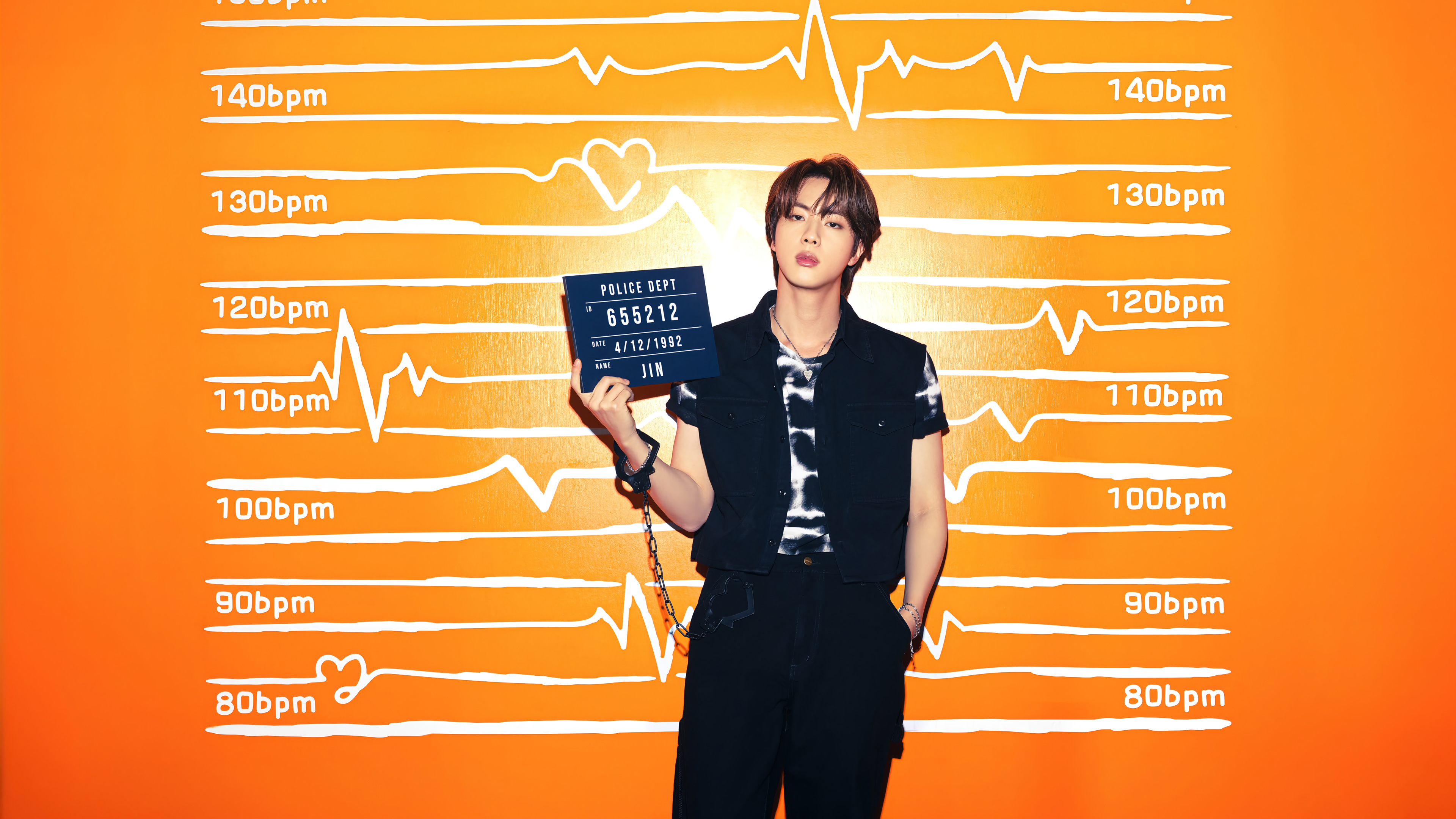 Fondos de pantalla Jin de BTS Butter