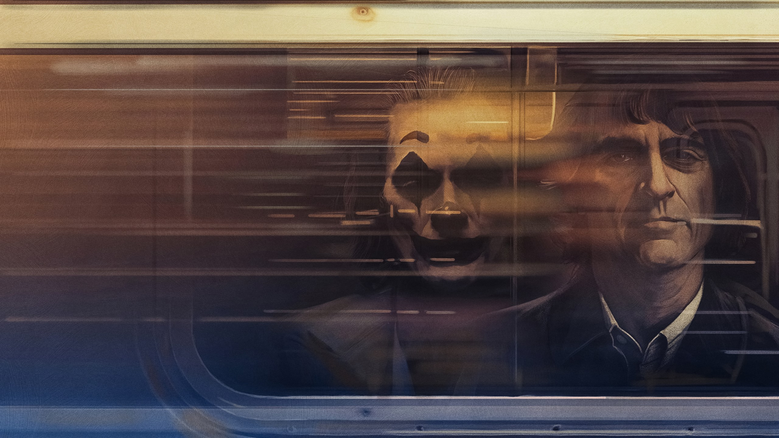 Fondos de pantalla Joaquin Phoenix como Guasón Fanart realista