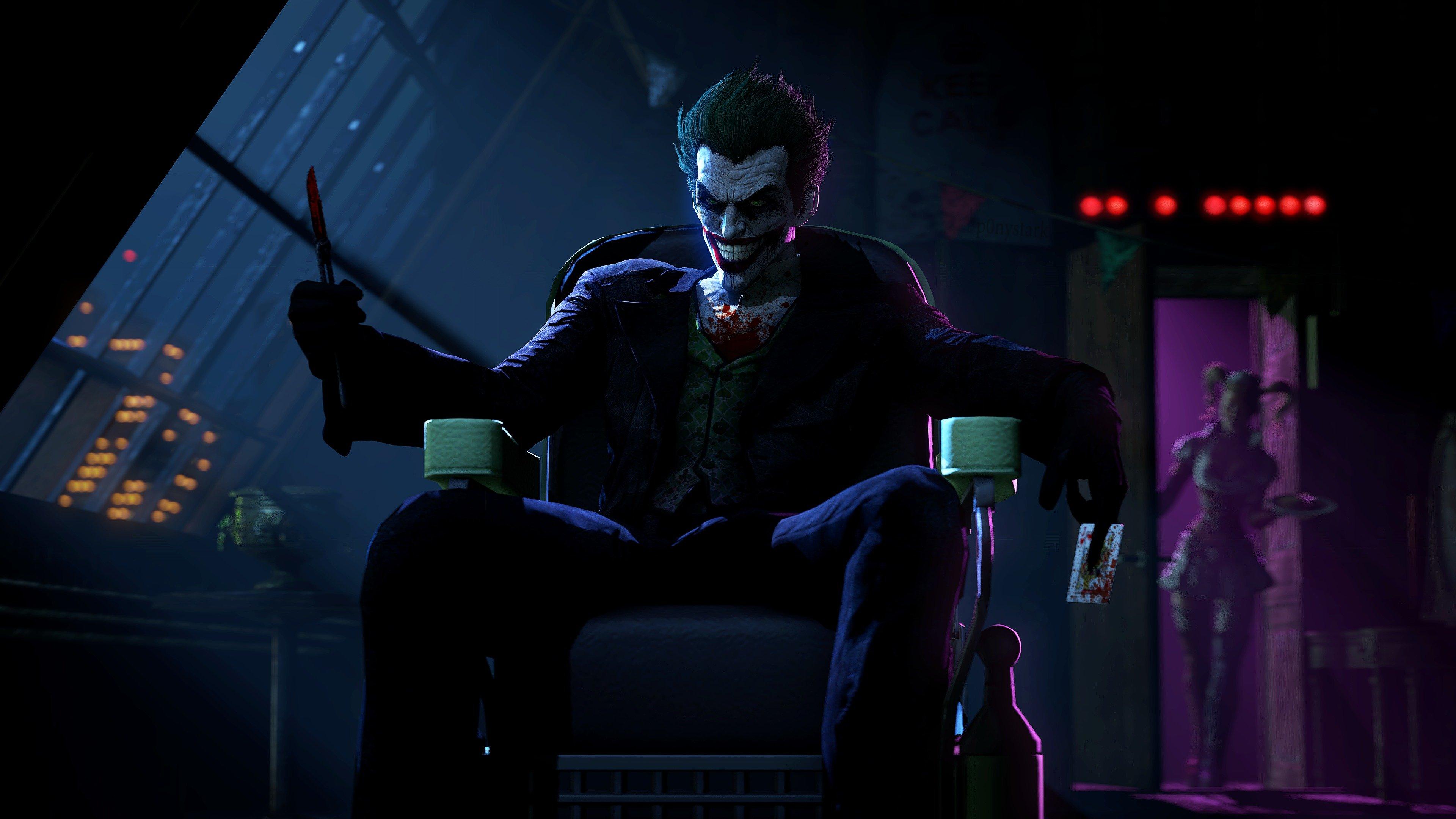 Fondos de pantalla Joker (Guasón) Batman Arkham Origins