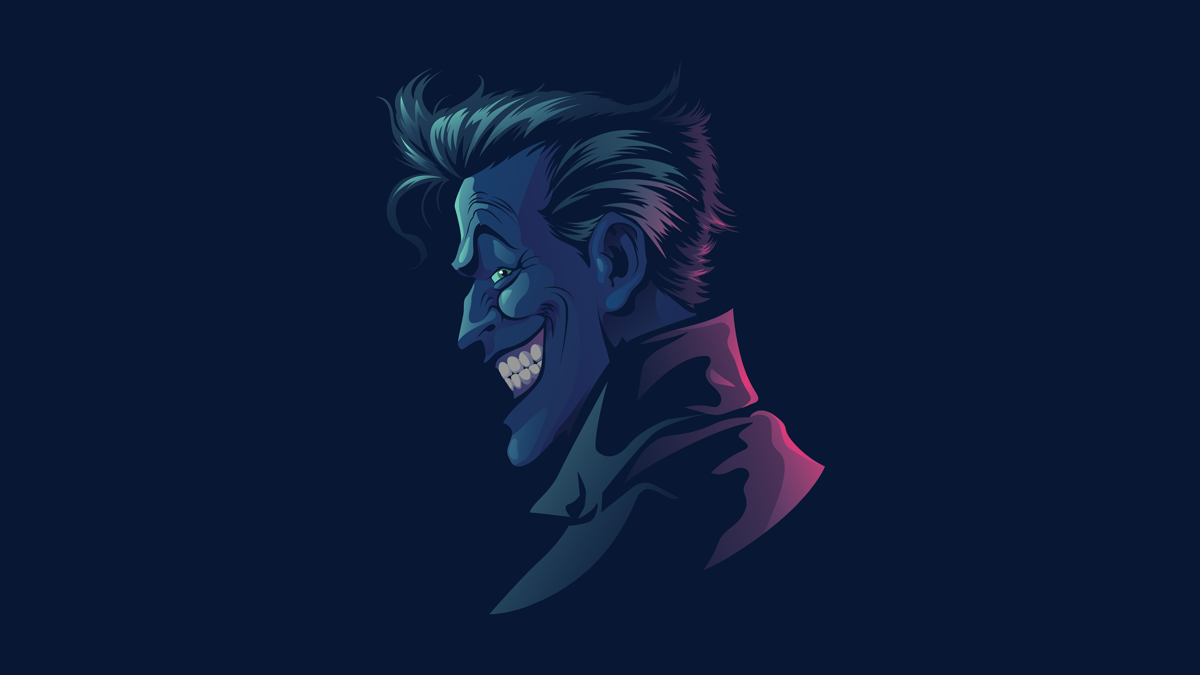 Joker Joker Minimalist Wallpaper 4k Ultra Hd Id 3130