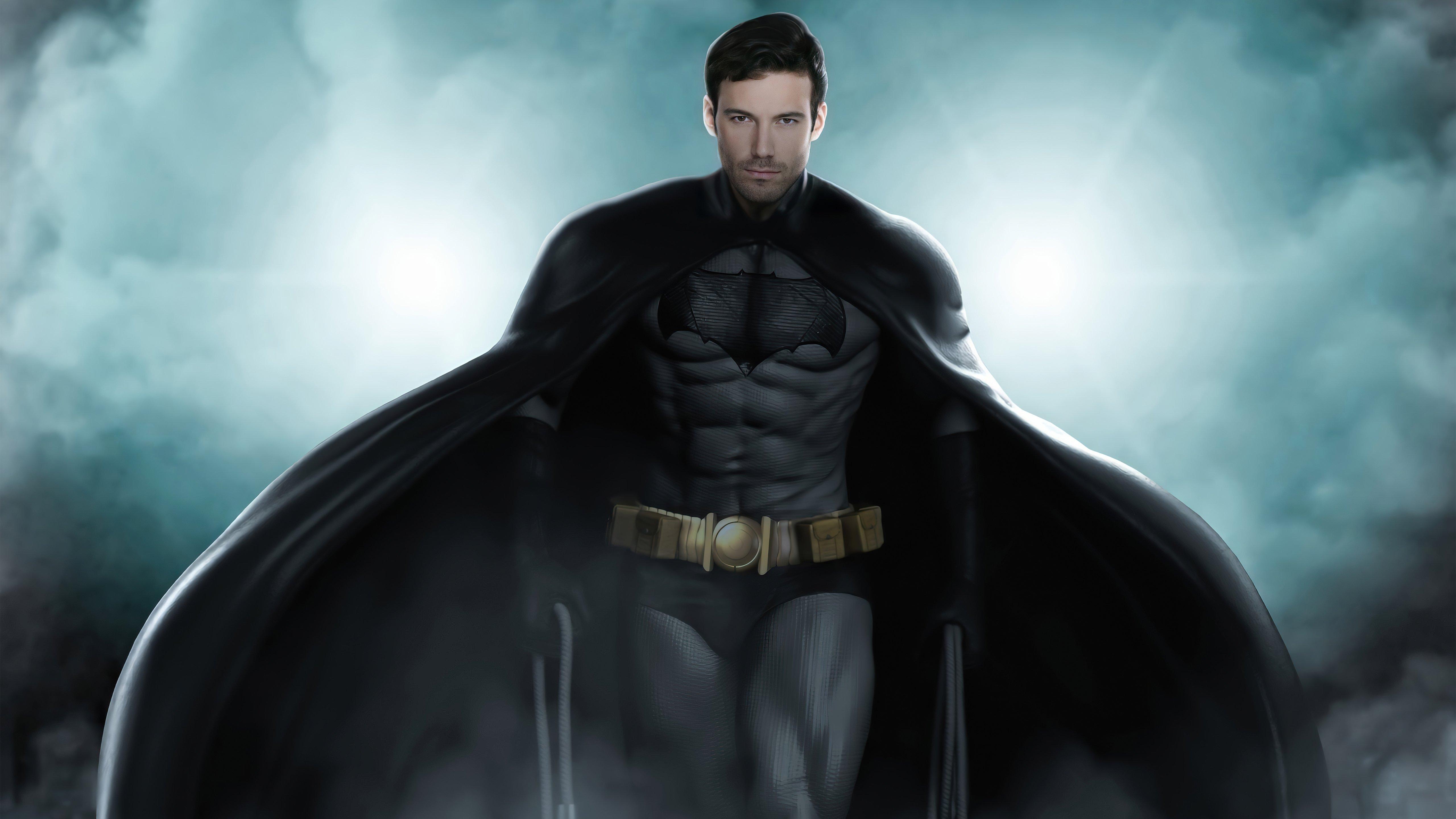 Fondos de pantalla Joven Ben Affleck como Batman