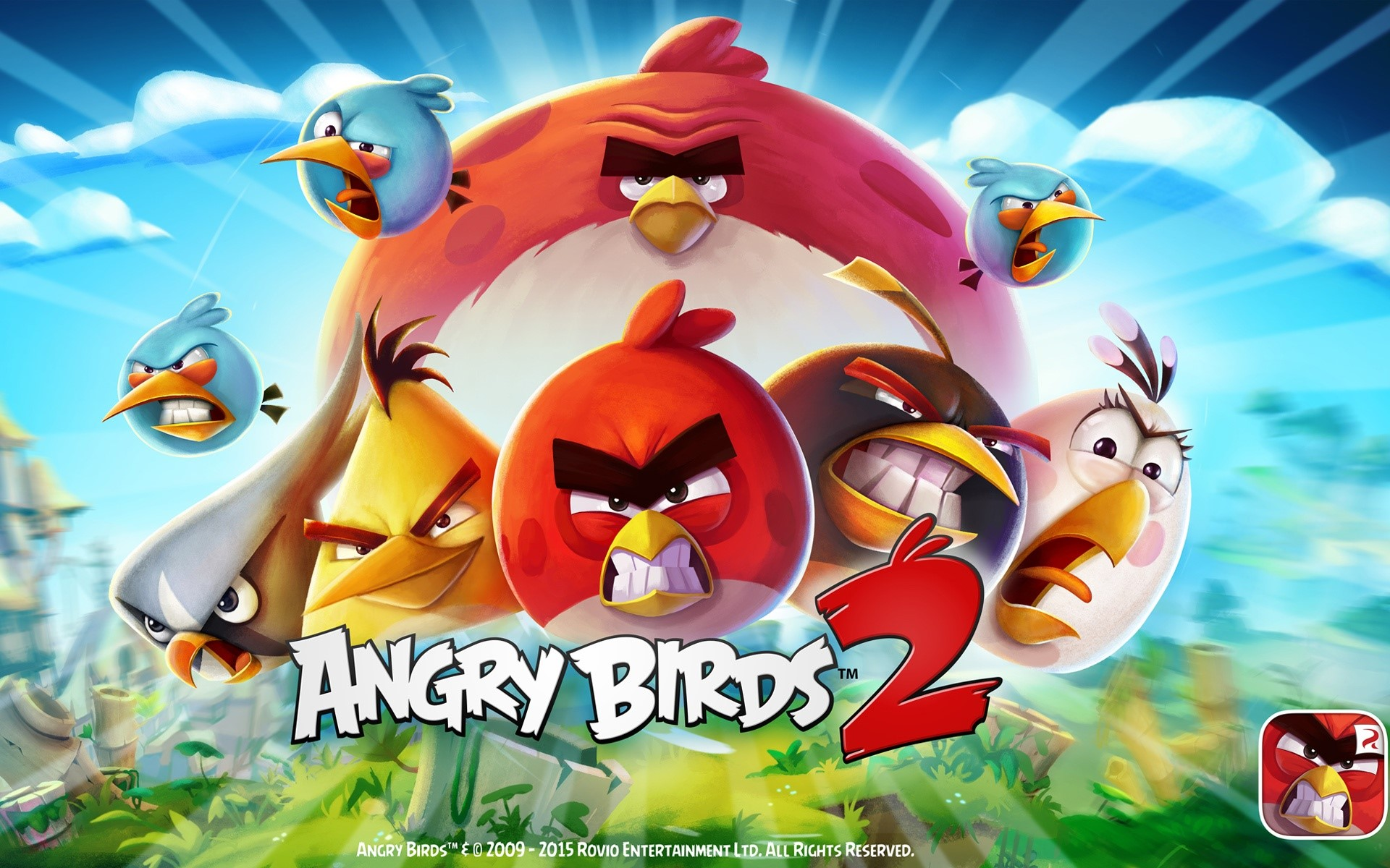 Wallpaper Angry Birds 2 Game