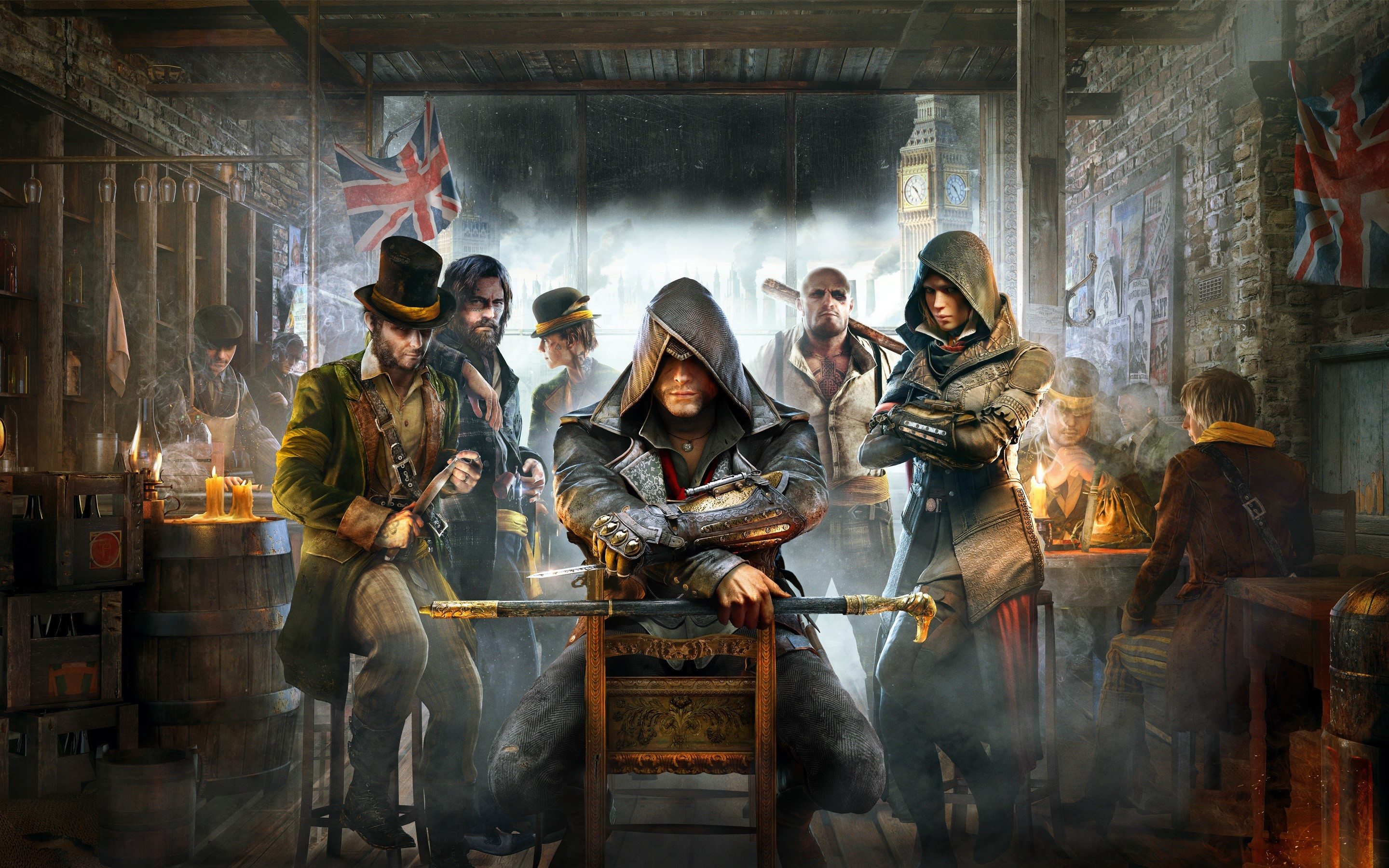 Wallpaper Game Assassins Creed Syndicate