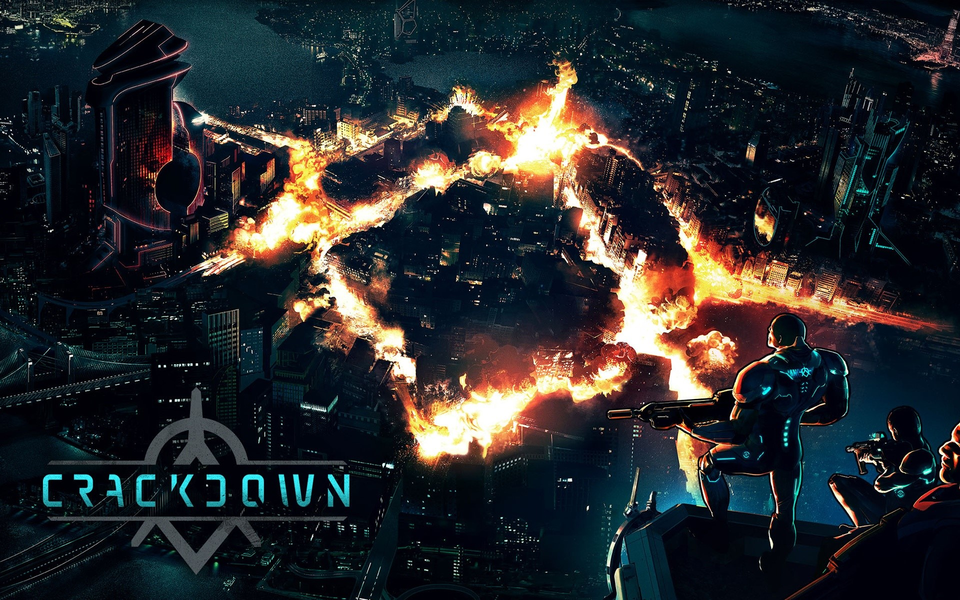 Wallpaper Game Crackdown Returns