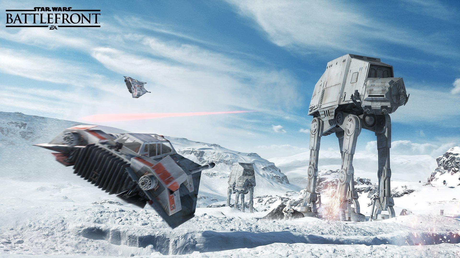 Wallpaper Star Wars Battlefront game