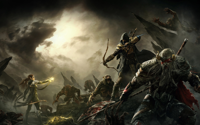 Wallpaper Online game The Elder Scrolls