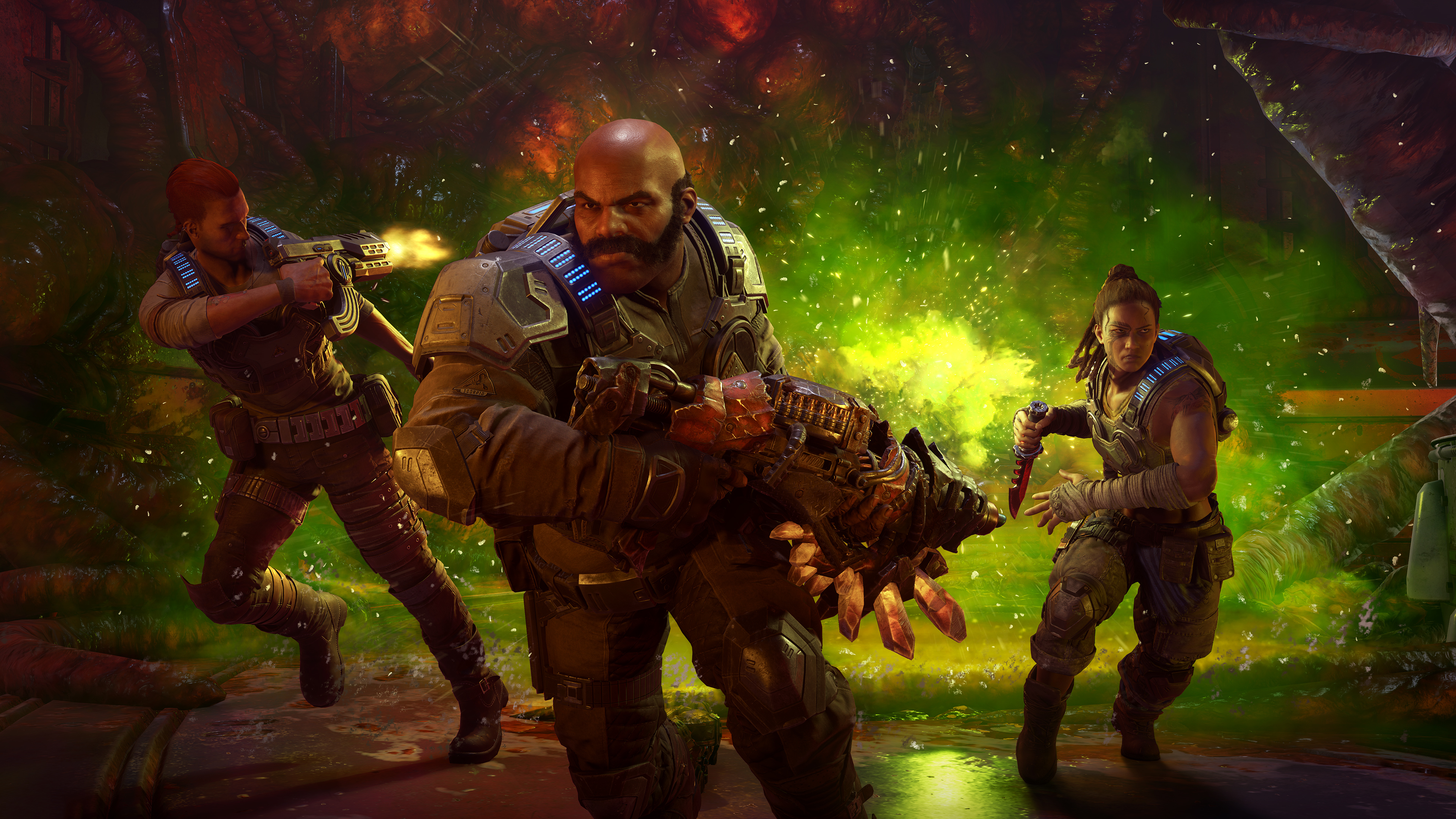 Gears Of War 5 Game Wallpaper 4k Ultra Hd Id 4999
