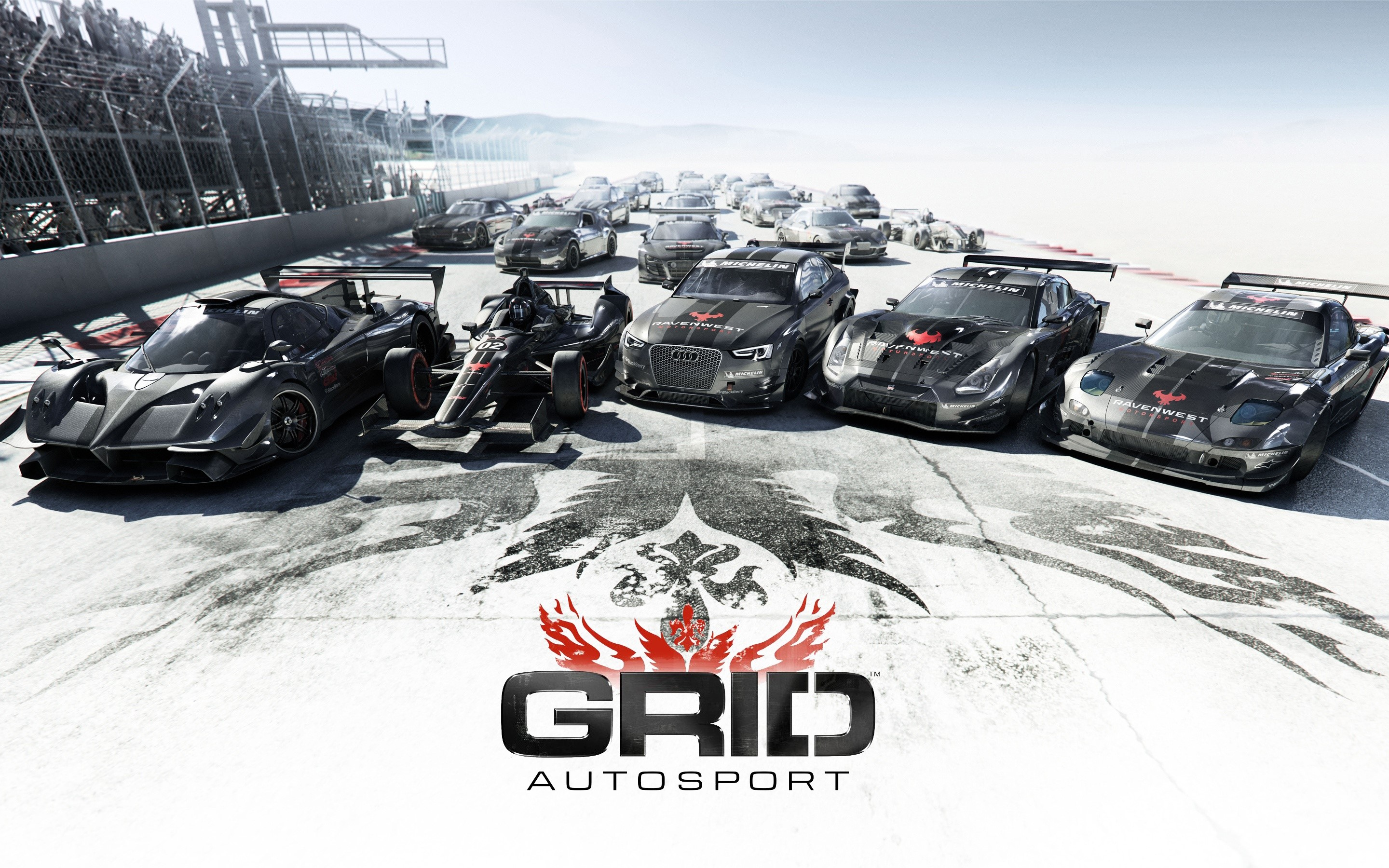 Wallpaper Game Grid Autosport