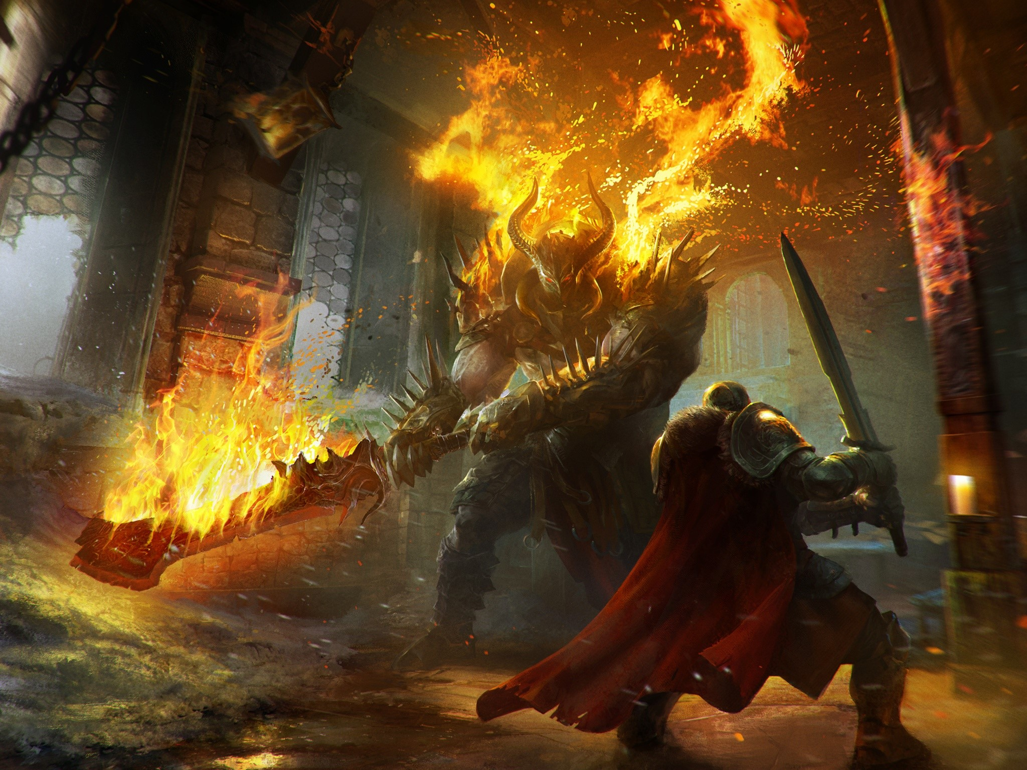 Wallpaper Juego Lords of the fallen Images