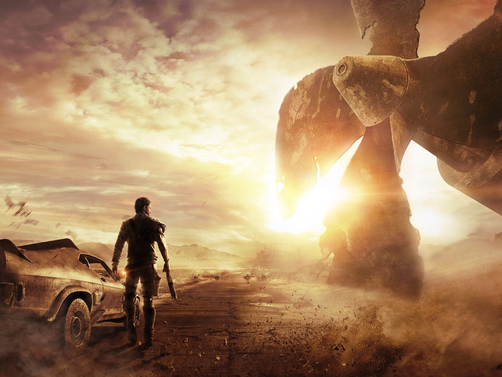 Wallpaper Game Mad Max