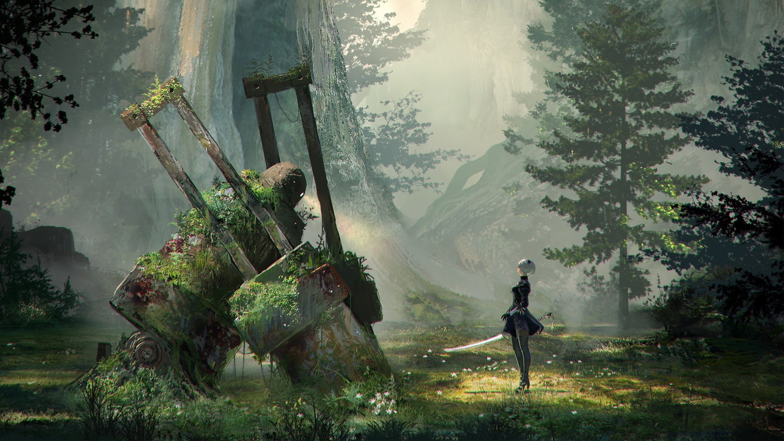 Wallpaper Game Nier Automata